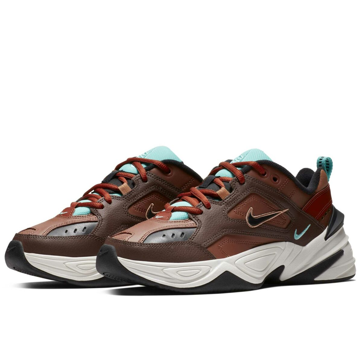 nike m2k tekno brown ao3108_200 купить