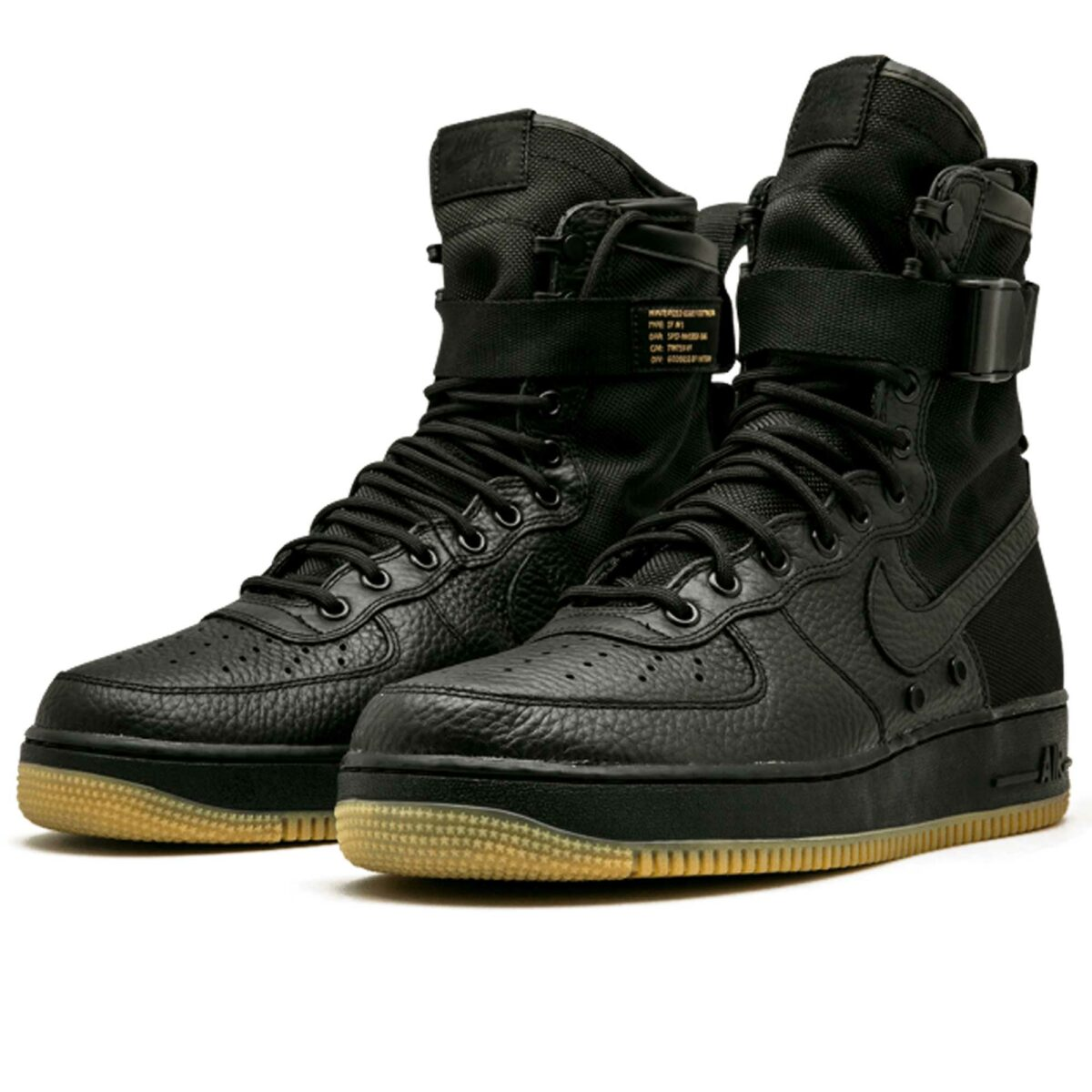 nike sf air force 1 black 864024_001 купить