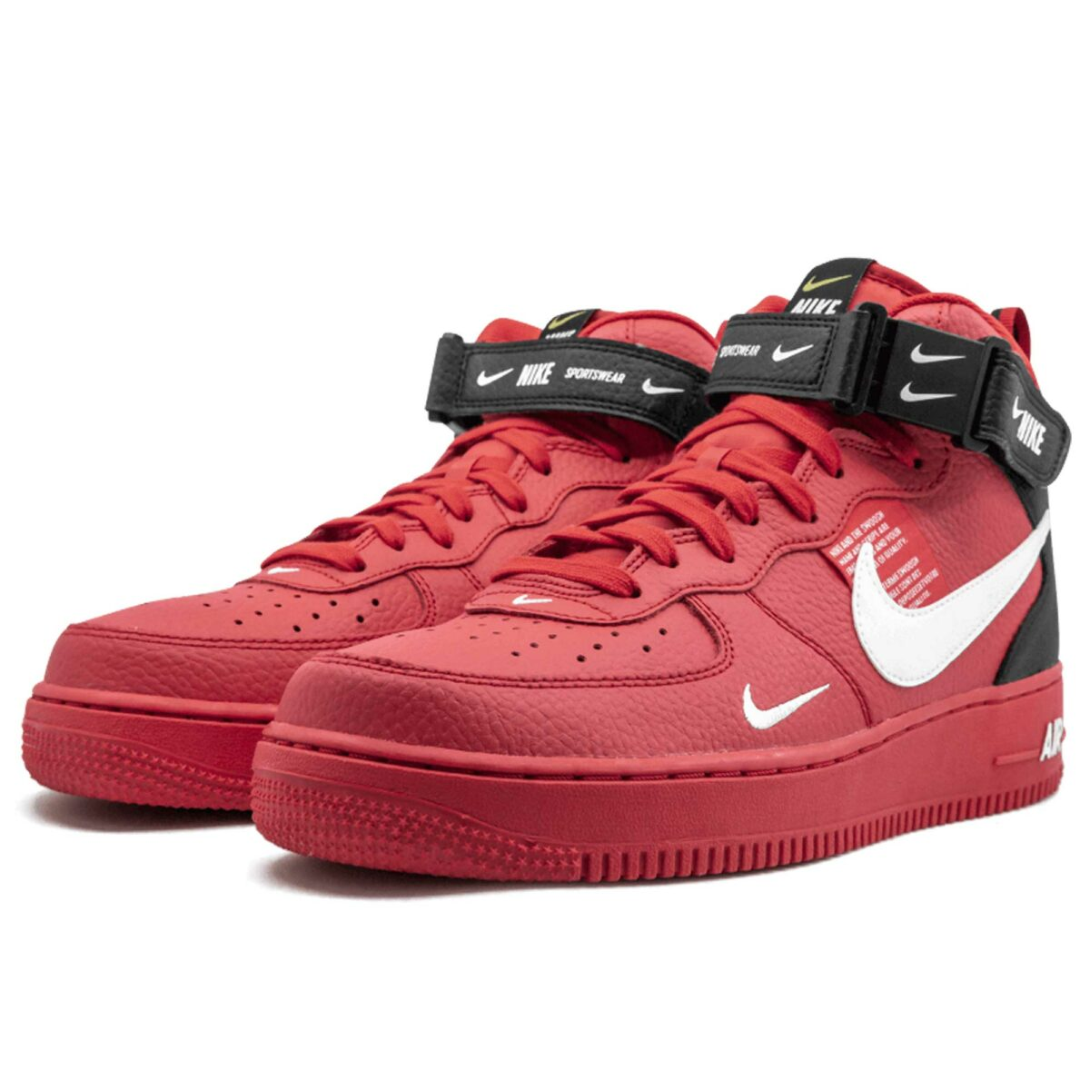 air force 1 mid 07 lv8 red 804609-605 купить