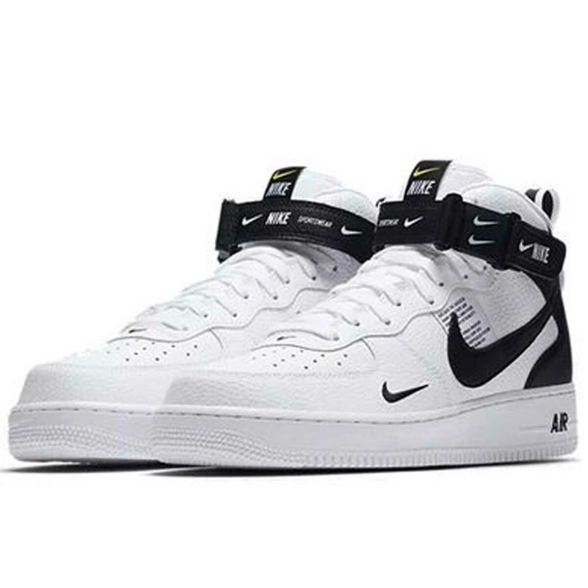 nike air force 1 mid 07 lv8 white black 804609_103 купить