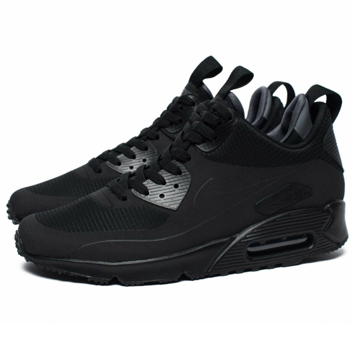 nike air max 90 ultra mid black winter 924458_002 купить