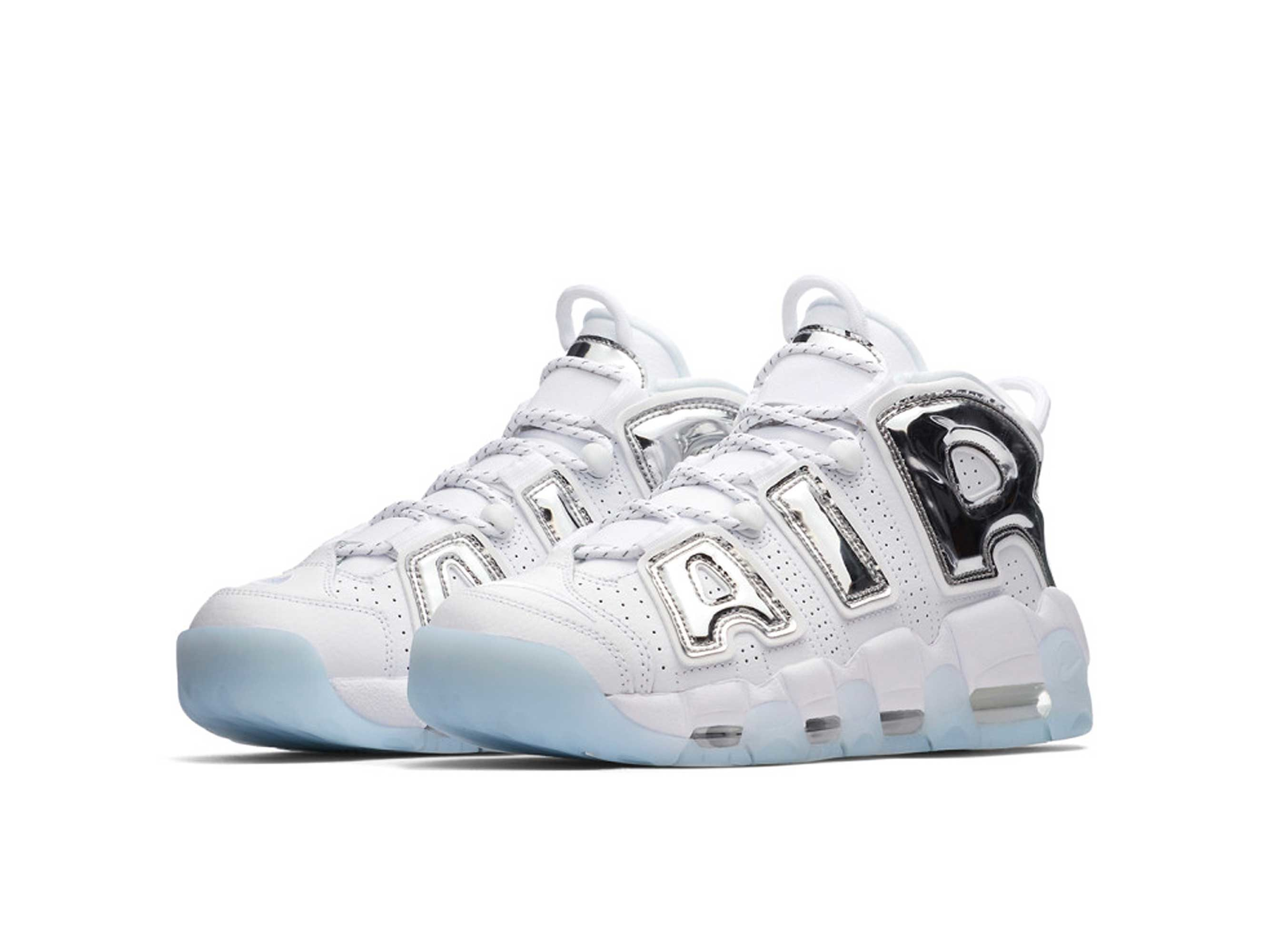 nike air more uptempo white chrome blue tint 917593_100 купить