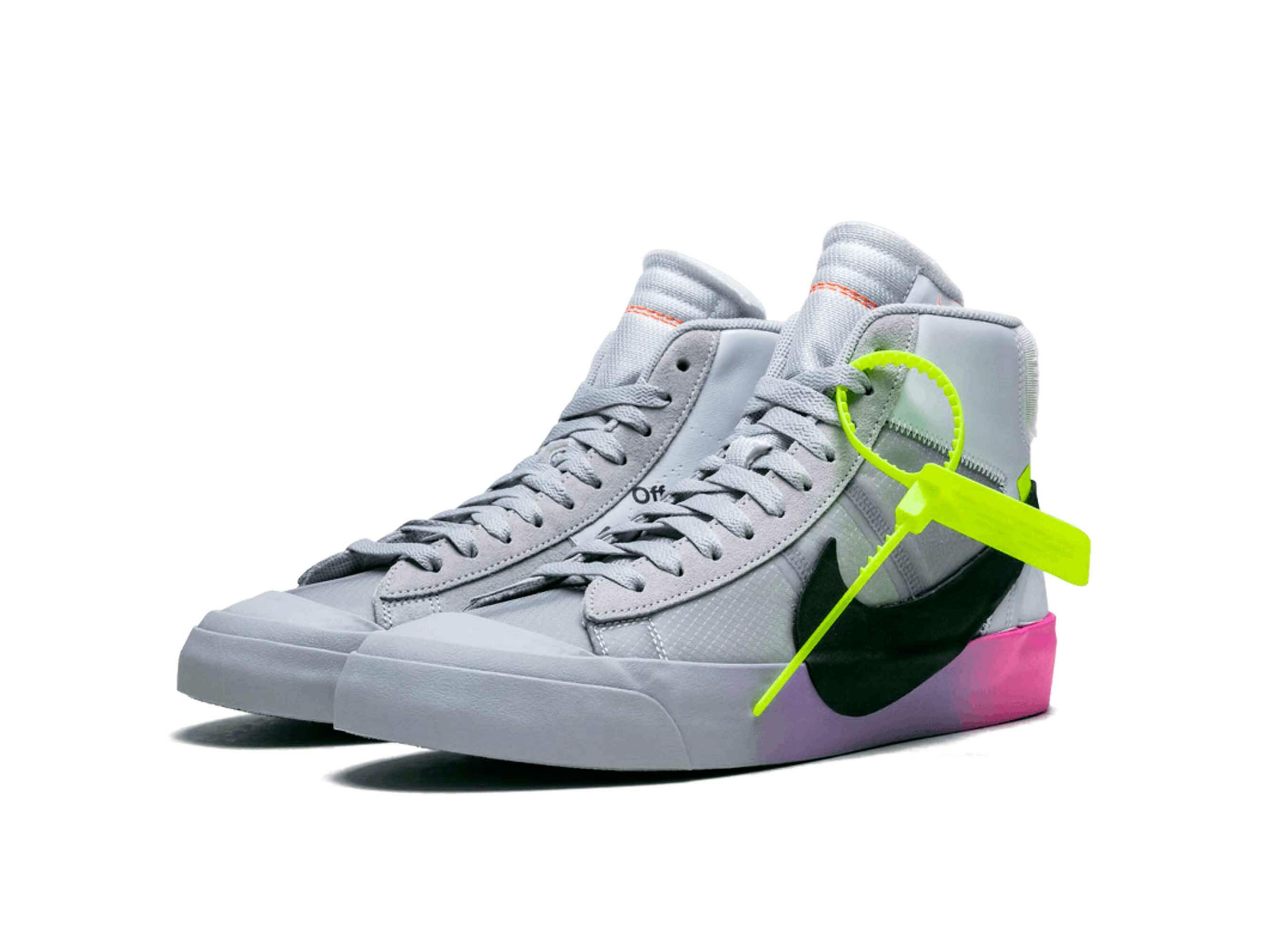 nike blazer mid The Serena Williams x Off White x Nike Blazer Queen AA3832_002 купить