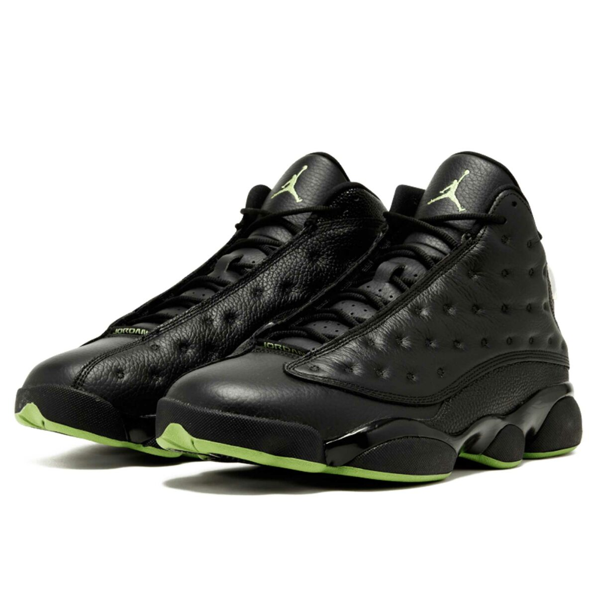 nike air Jordan 13 retro black leather 414571_042 купить