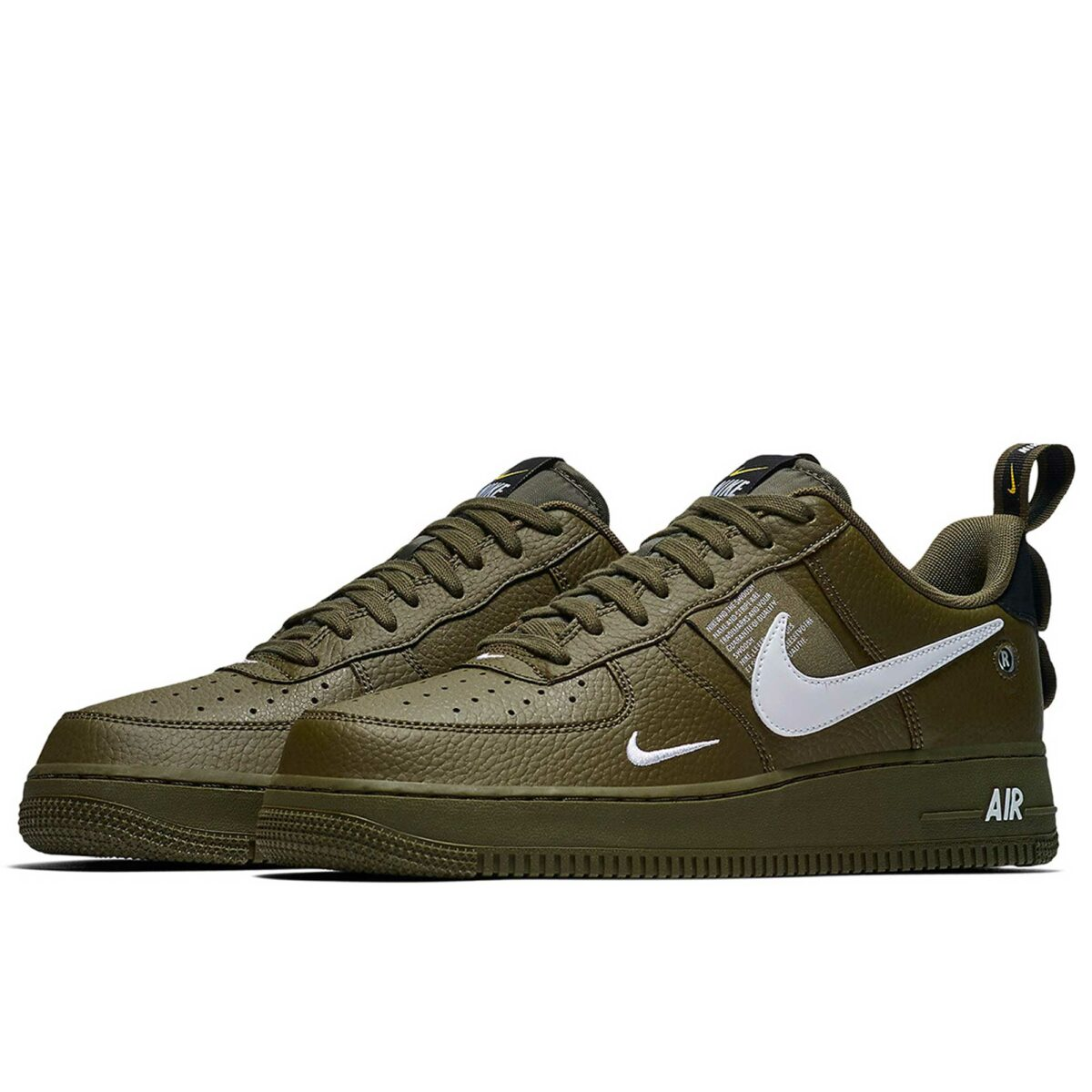 nike air force 1 ´07 LV8 utility olive canvas AJ7747_300 купить