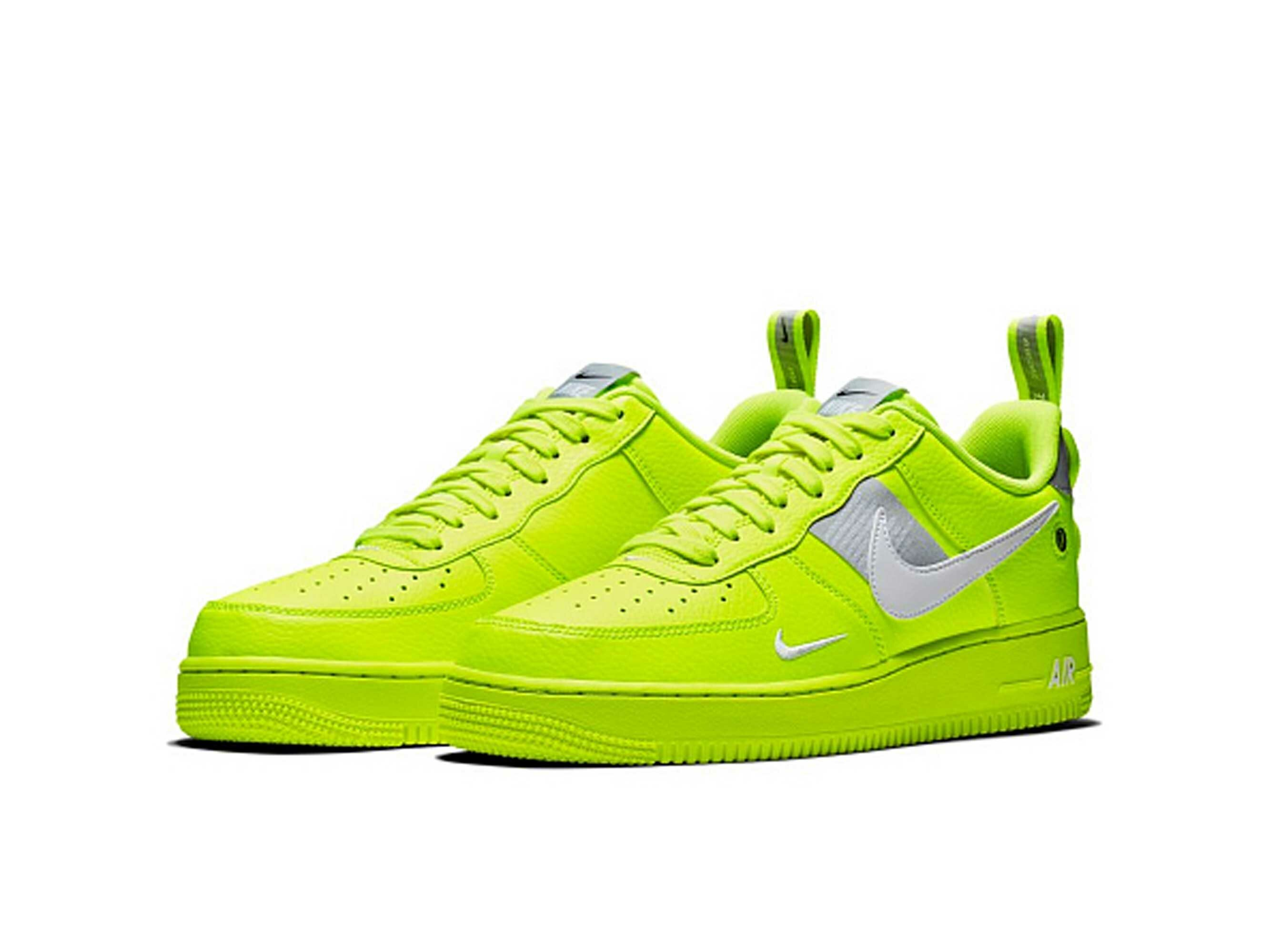 nike air force 1 '07 LV8 utility volt aj7747_700 купить