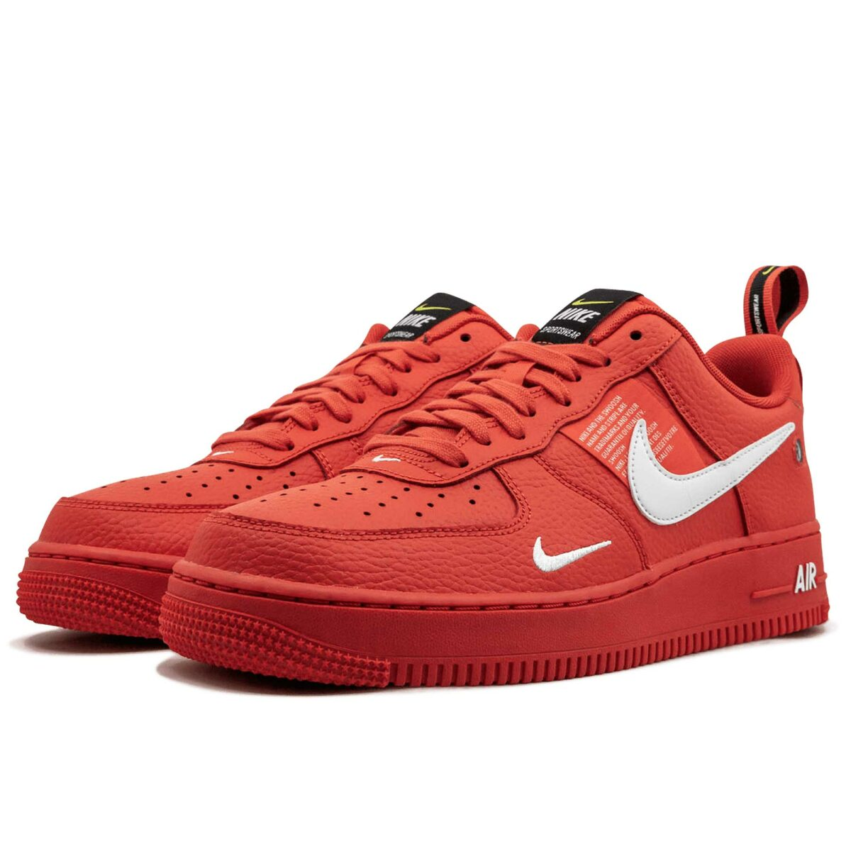 nike air force 1 07 lv8 utility red AJ7747_800 купить