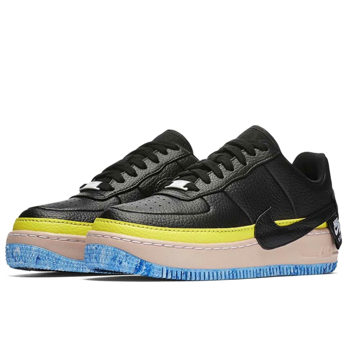nike air force1 JESTER XX black sonic yellow artic orange AT2497_001 купить