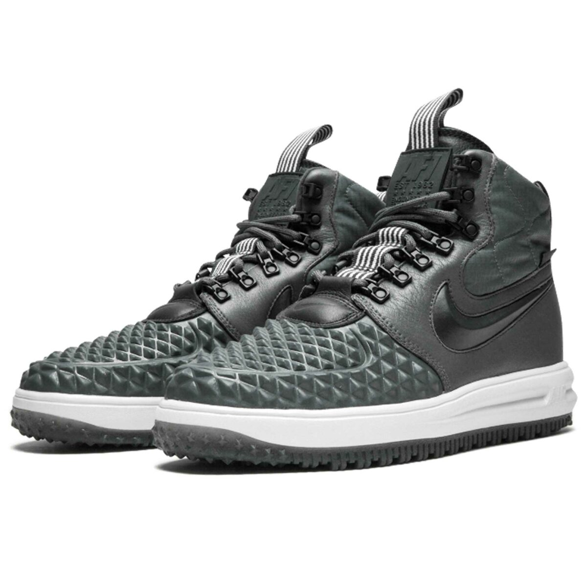 nike air lunar force 1 duckboot'17 grey mint 916682_003 купить