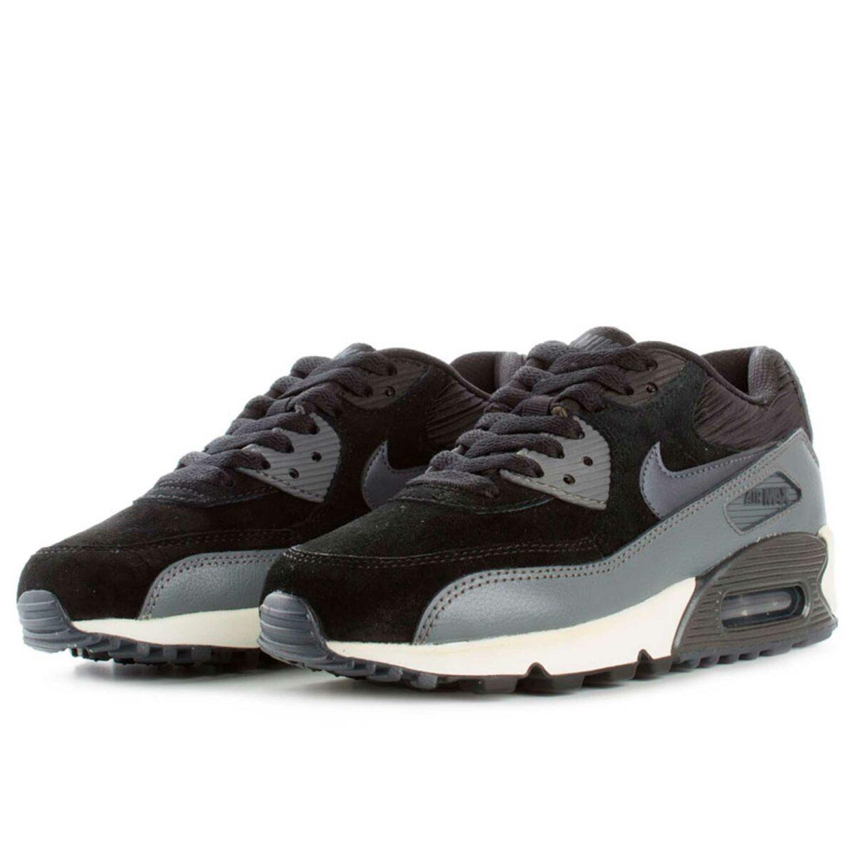 nike air max 90 black grey 768887_001 купить