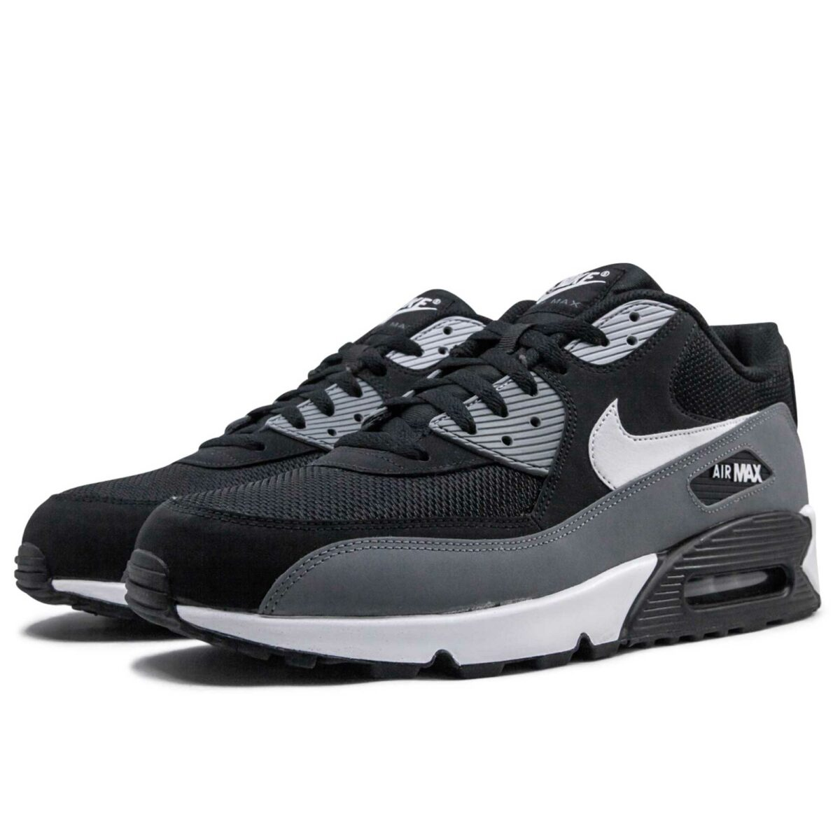 nike air max 90 essential black grey white AJ1285_018 купить