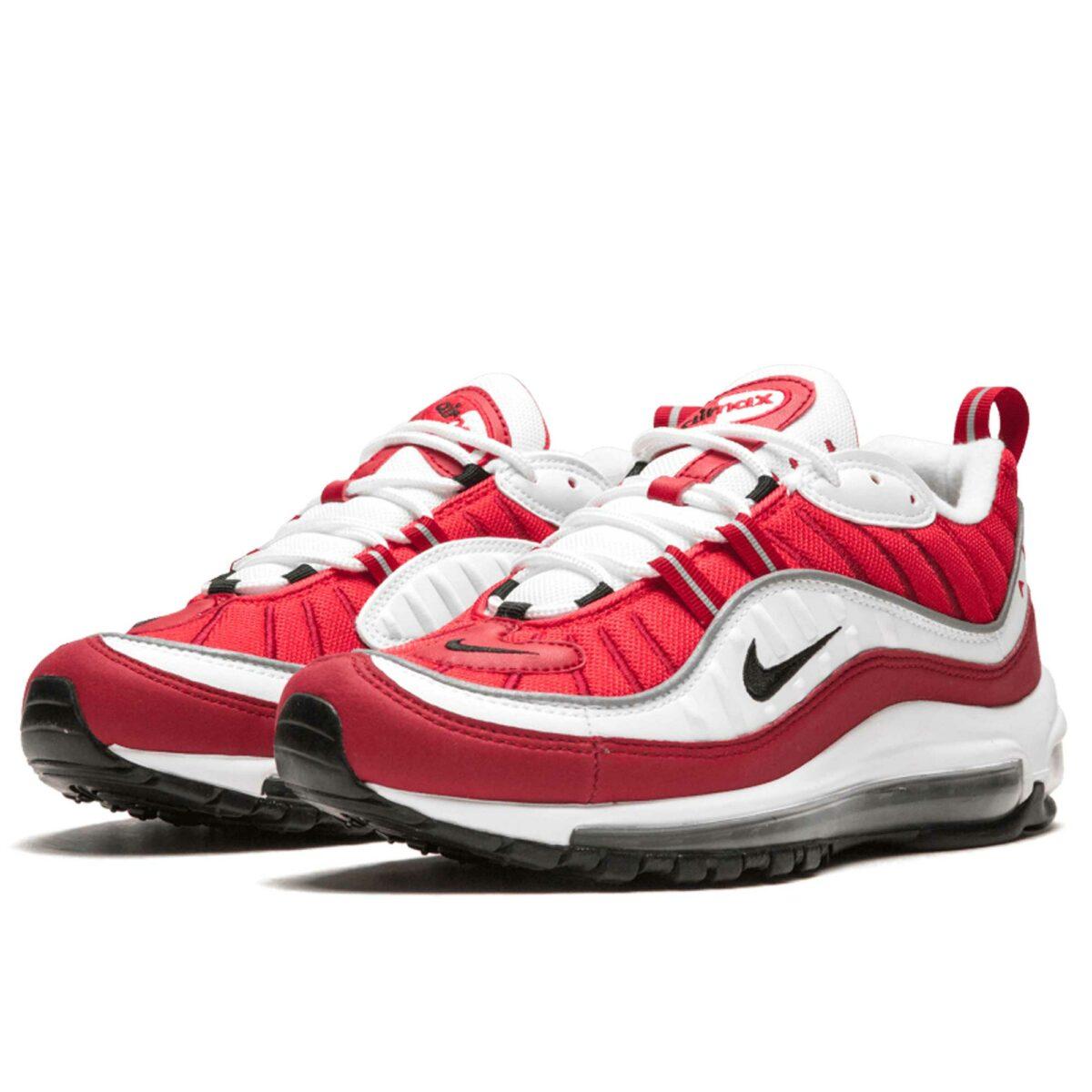 nike air max 98 red white AH6799_101 купить