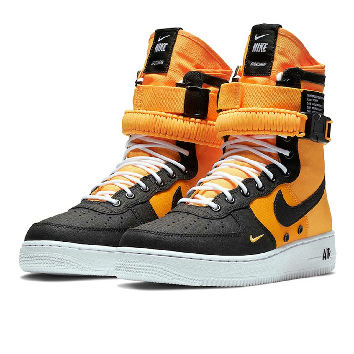 nike sf af1 yellow black high 864024_800 купить