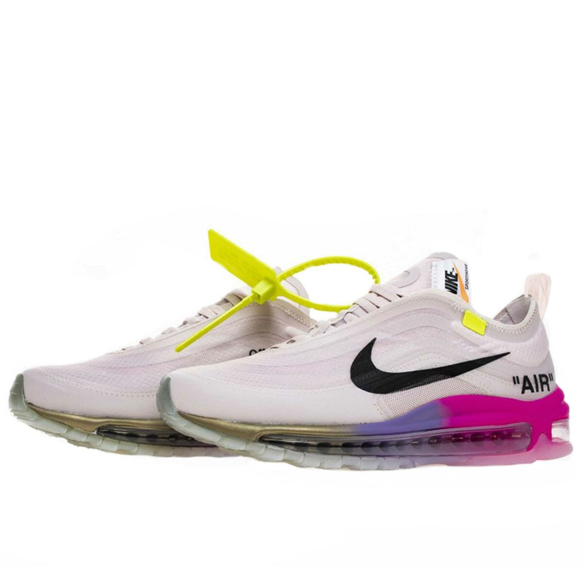 off-white x nike air max 97 rose barely AJ4585_600 купить