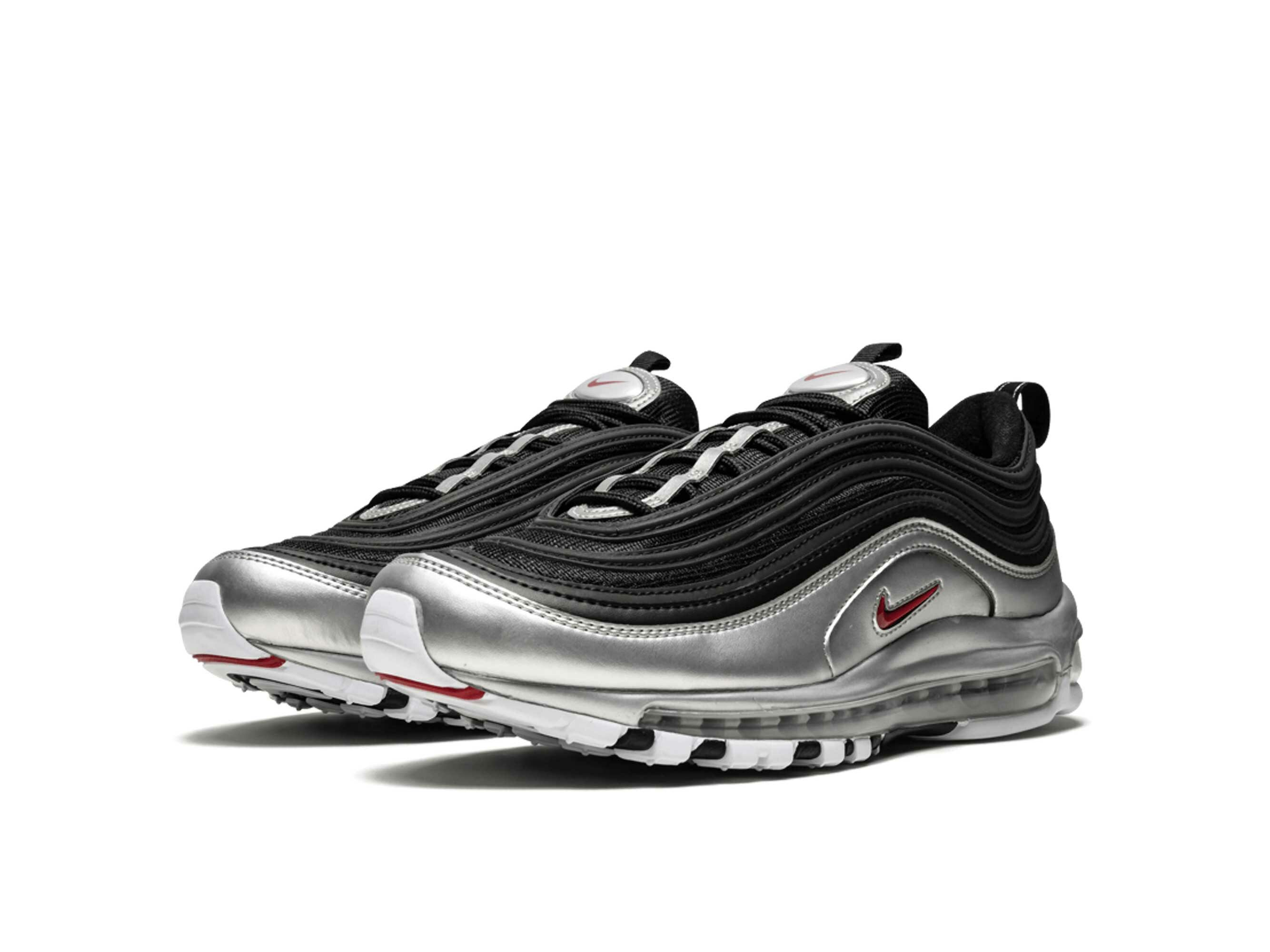 nike air max 97 black metallic silver AT5458_001 купить