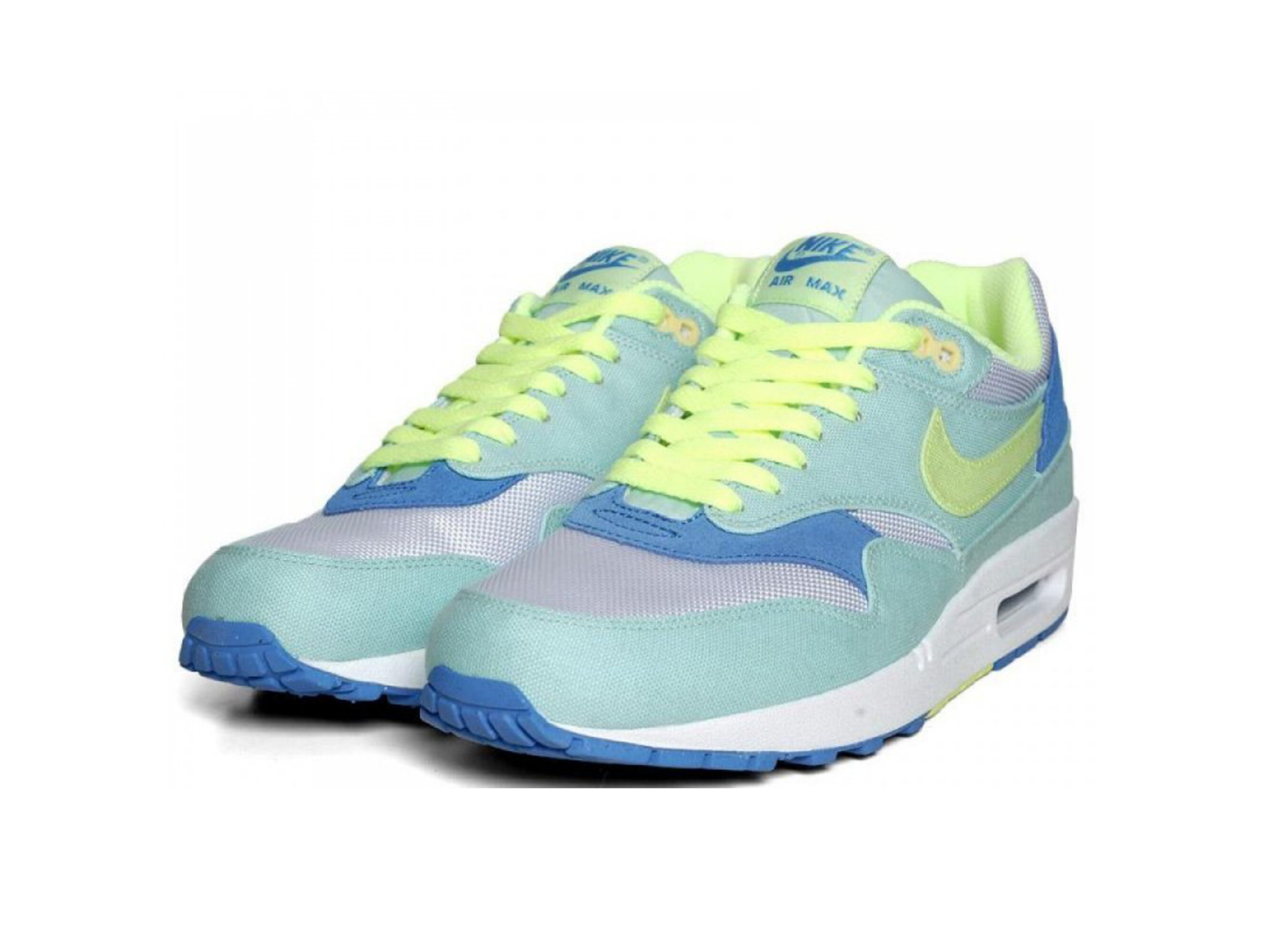 nike air max 1 87 liquid lime 319986_301 купить