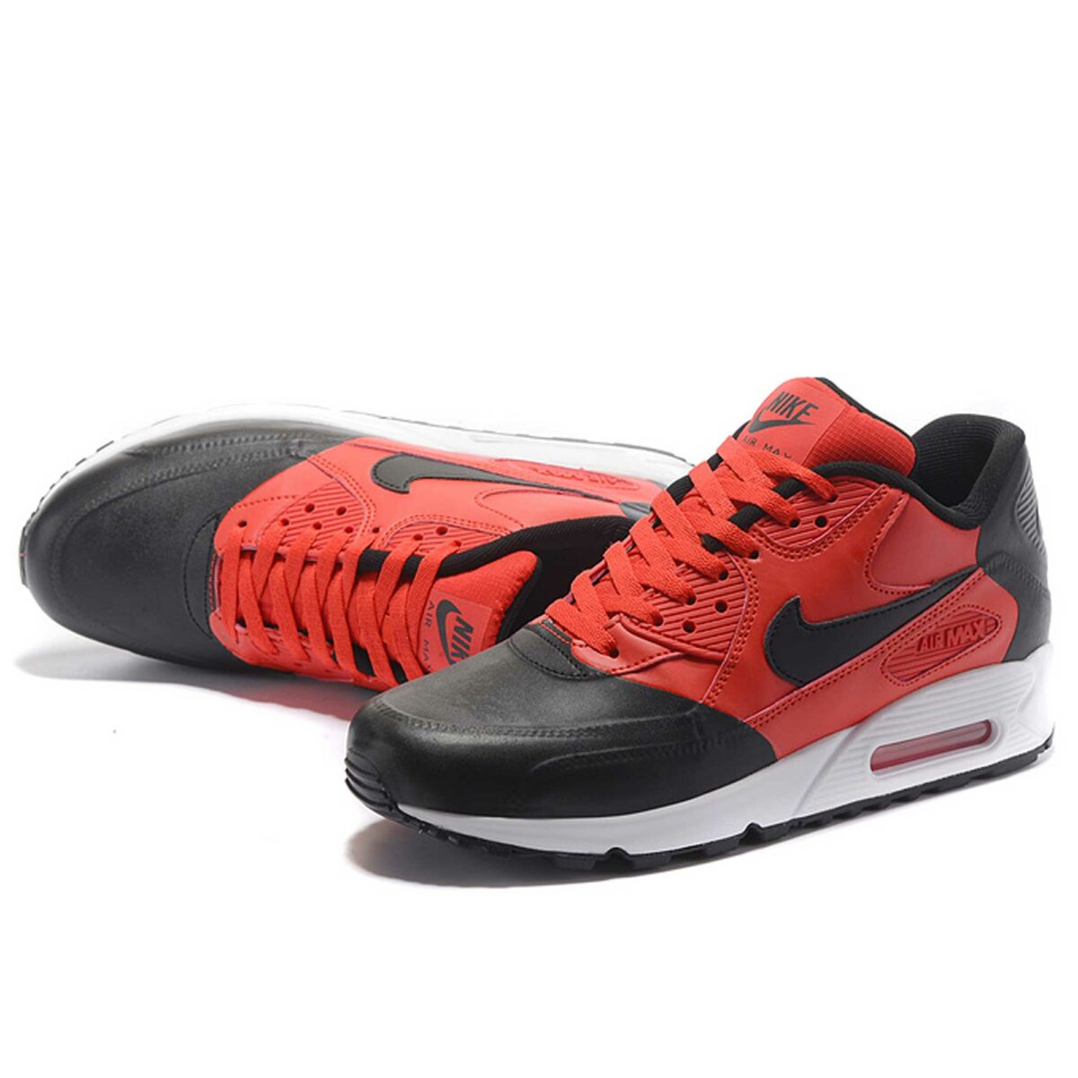 интернет магазин nike air max 90 premium se black red 858954_002 купить