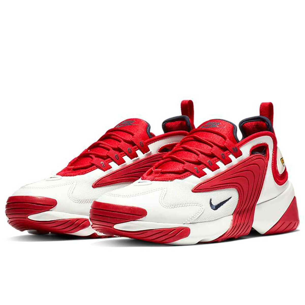 nike zoom 2k white red AOO269_102 купить