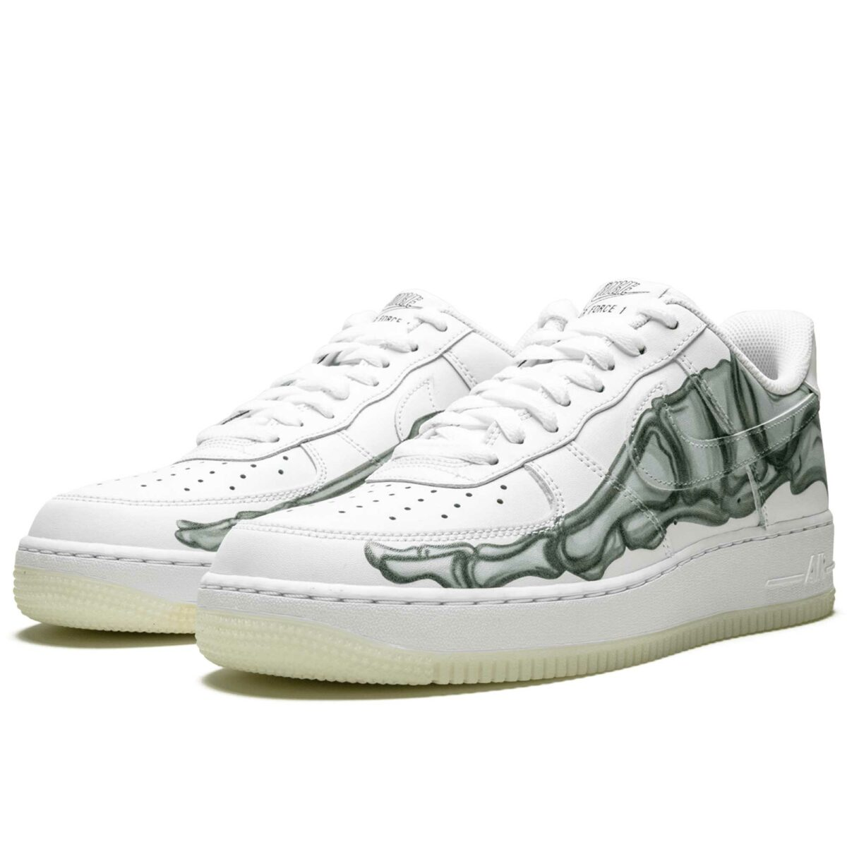 nike air force 1 07 skeleton QS white BQ07541_100 купить