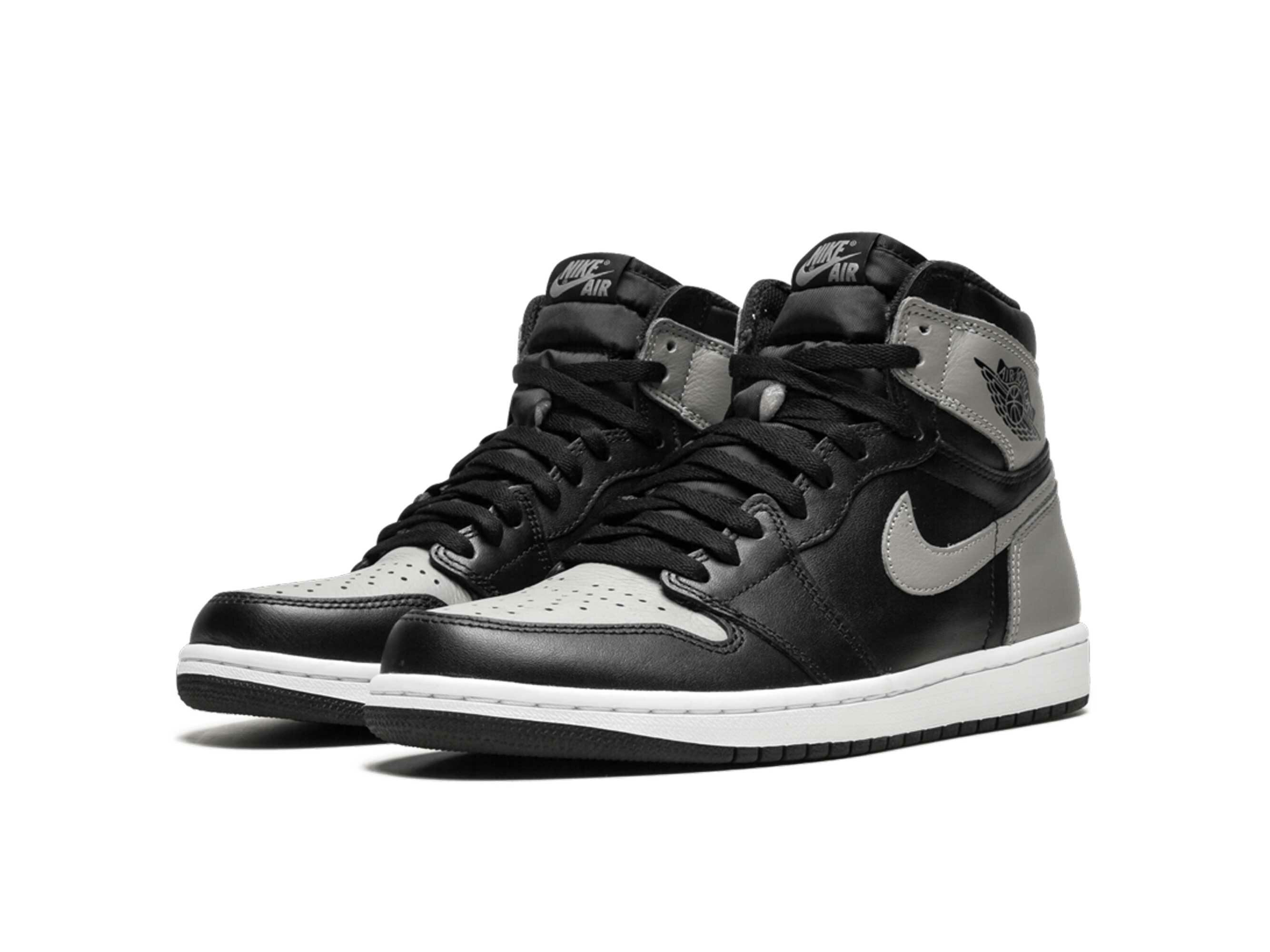 nike air Jordan 1 retro high og shadow black grey 555088_013 купить
