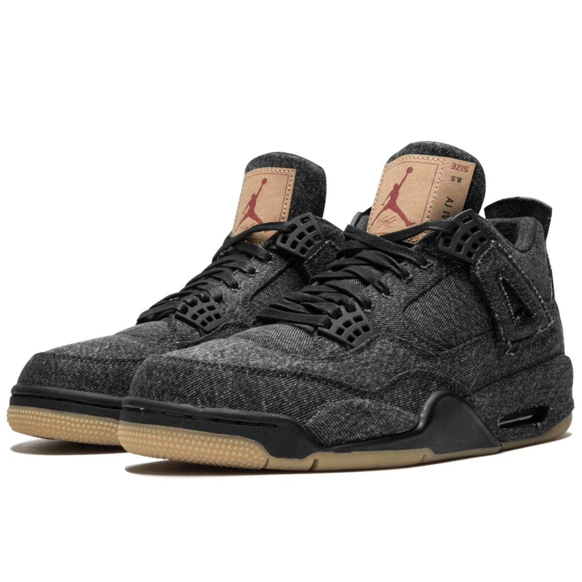 nike air Jordan 4 retro black levis NRG AO2571_001 купить