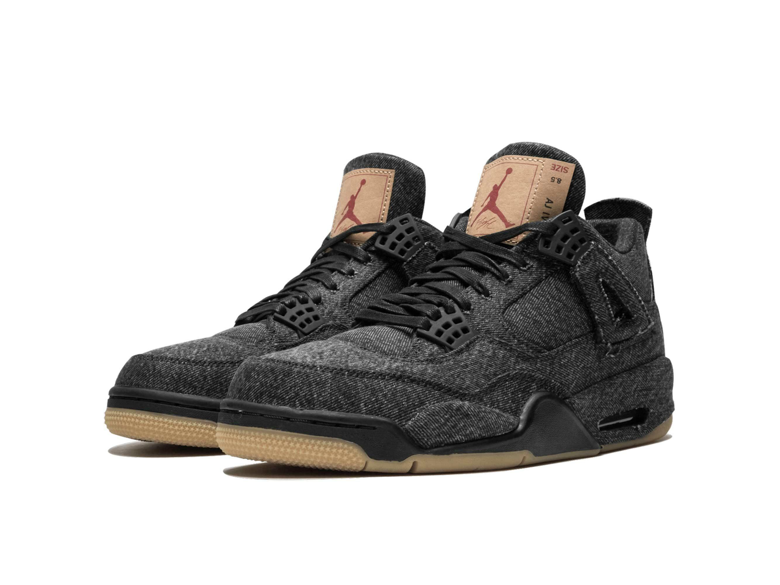 nike air Jordan 4 retro black levis NRG AO2571_001 купить