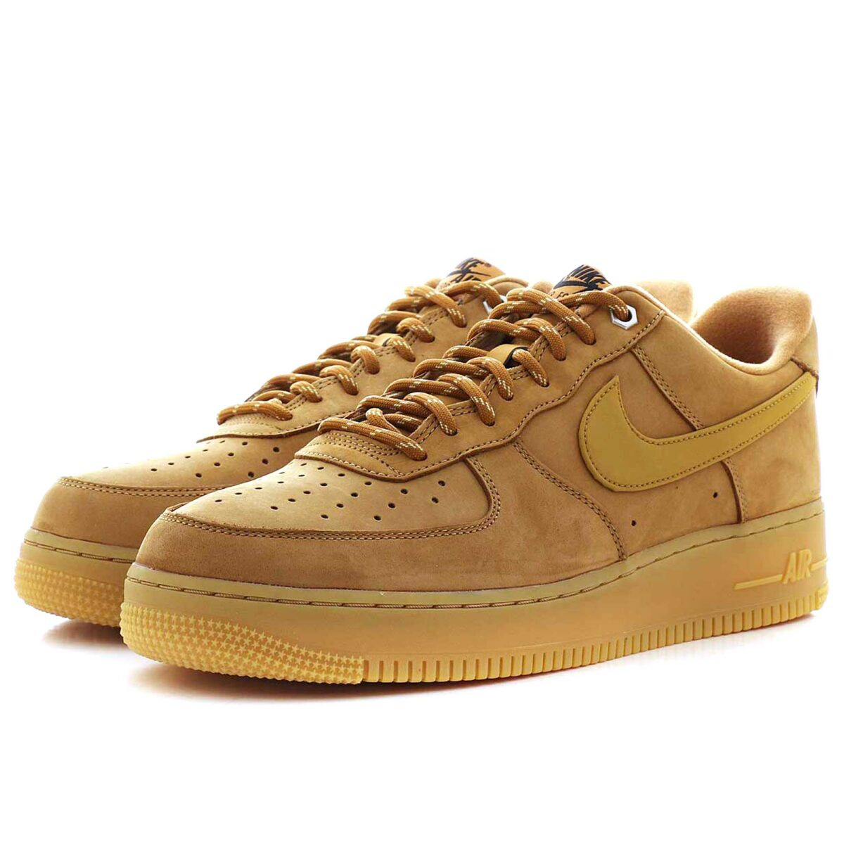 nike air force 1 07 WB flax brown купить