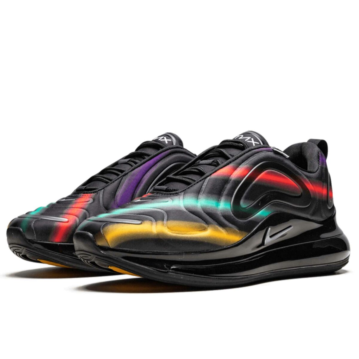 nike air max 720 black metallic silver AO2924_023 купить