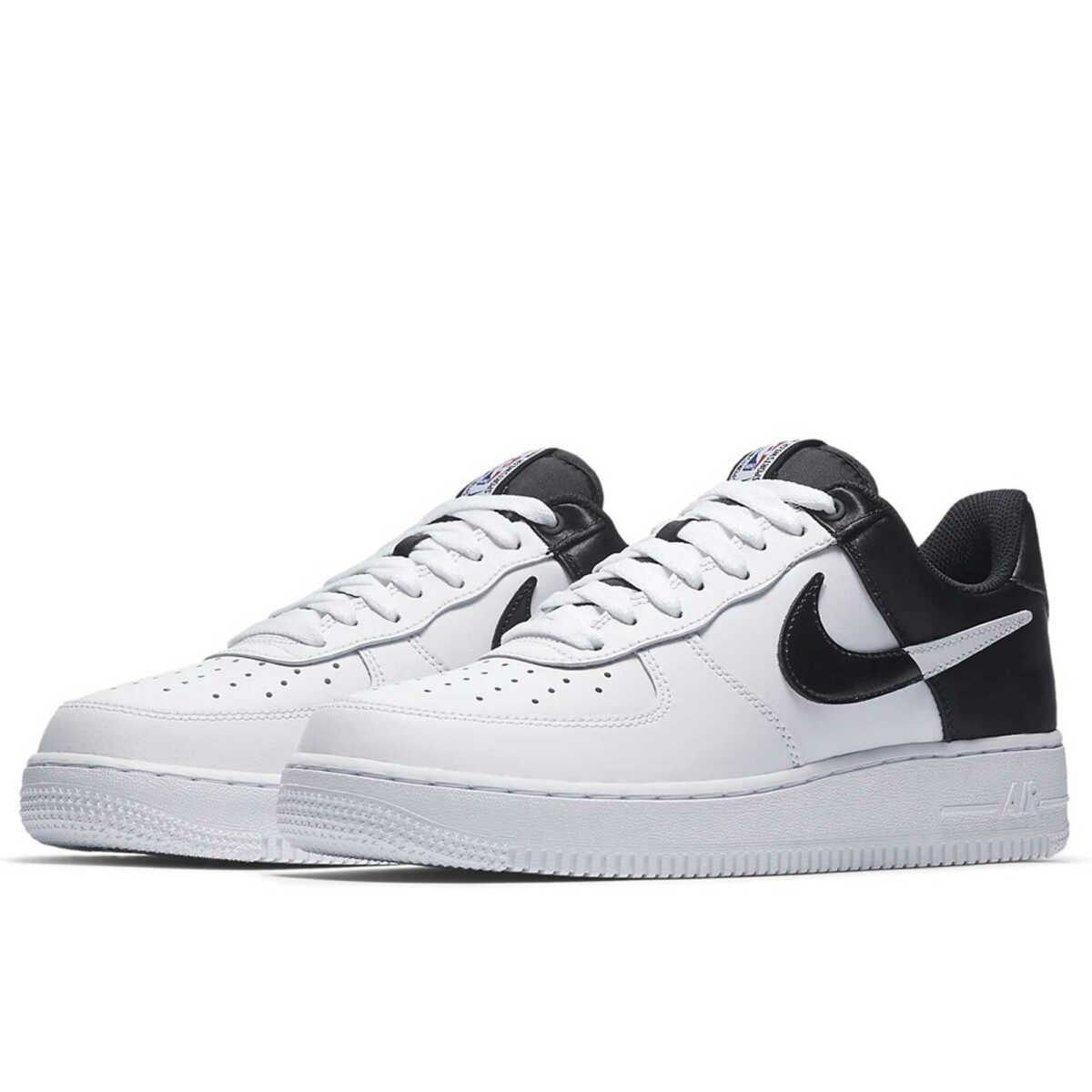 nike air force 1 '07 LV8 NBA black white купить