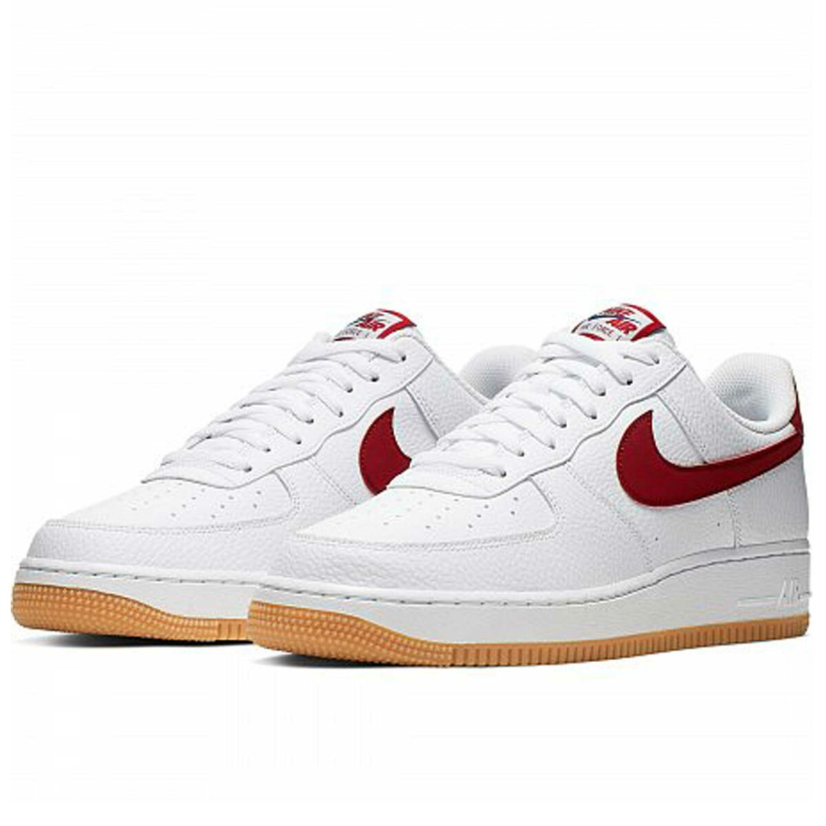 nike air force 1 low white red gum Cl0057_101 купить