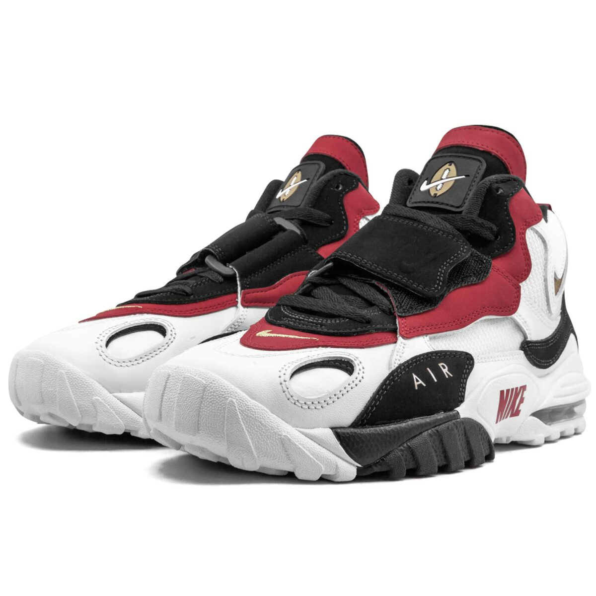 nike air max speed ​​turf white red 525225_101 купить