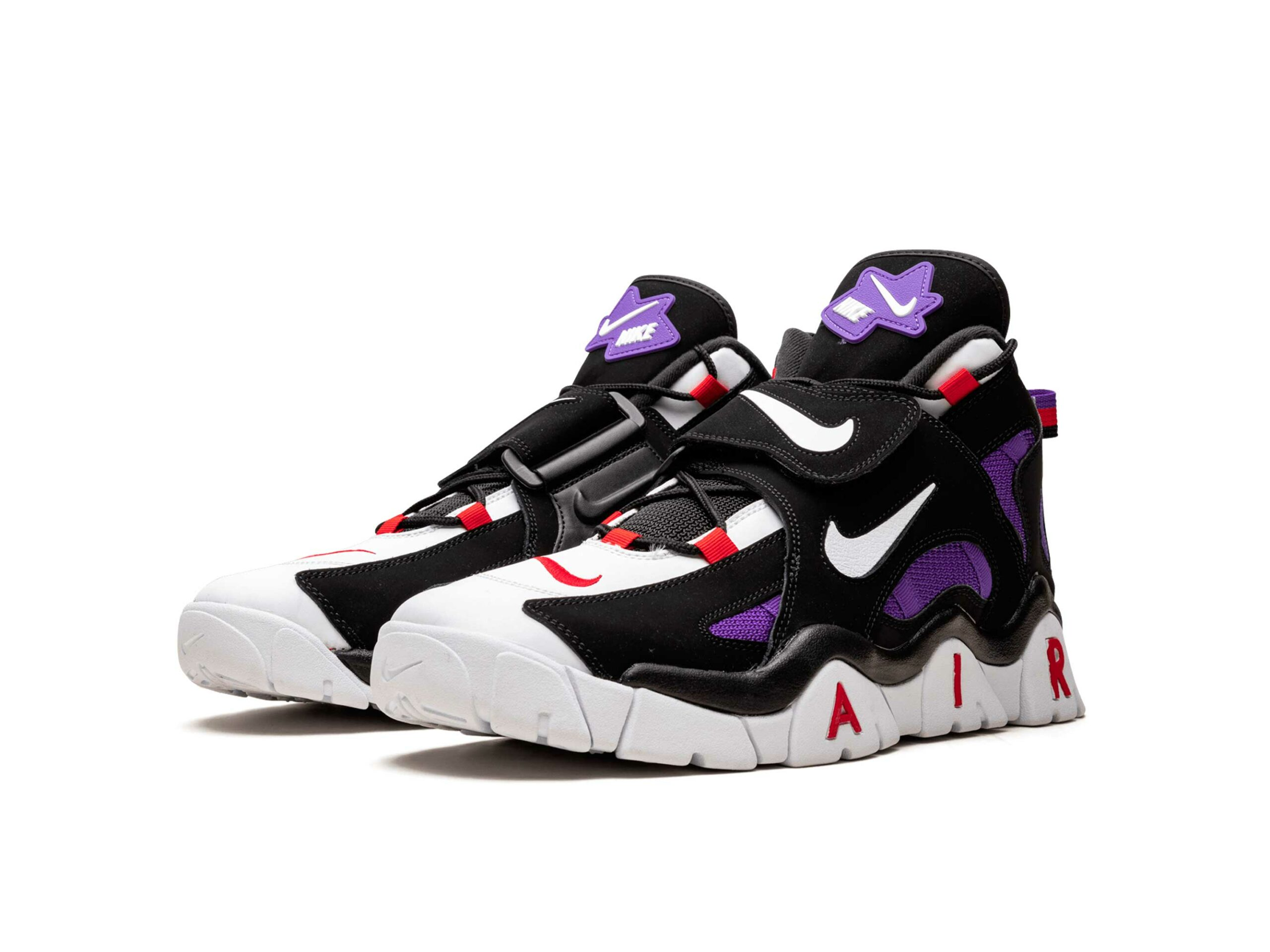 nike air barrage black hyper grape CD9329_001 купить