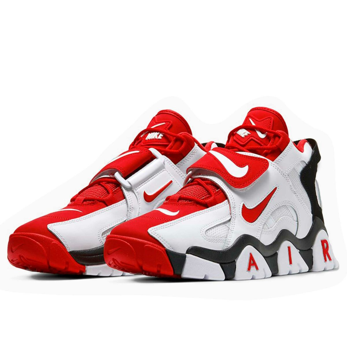 nike air barrage white red black AT7847_102 купить