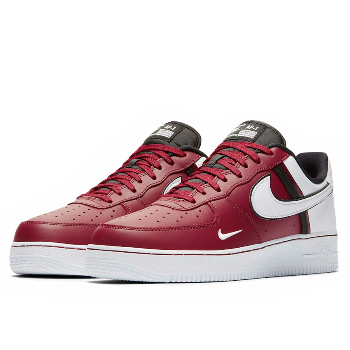 nike air force 1 lv 8 red white CI0061_600 купить