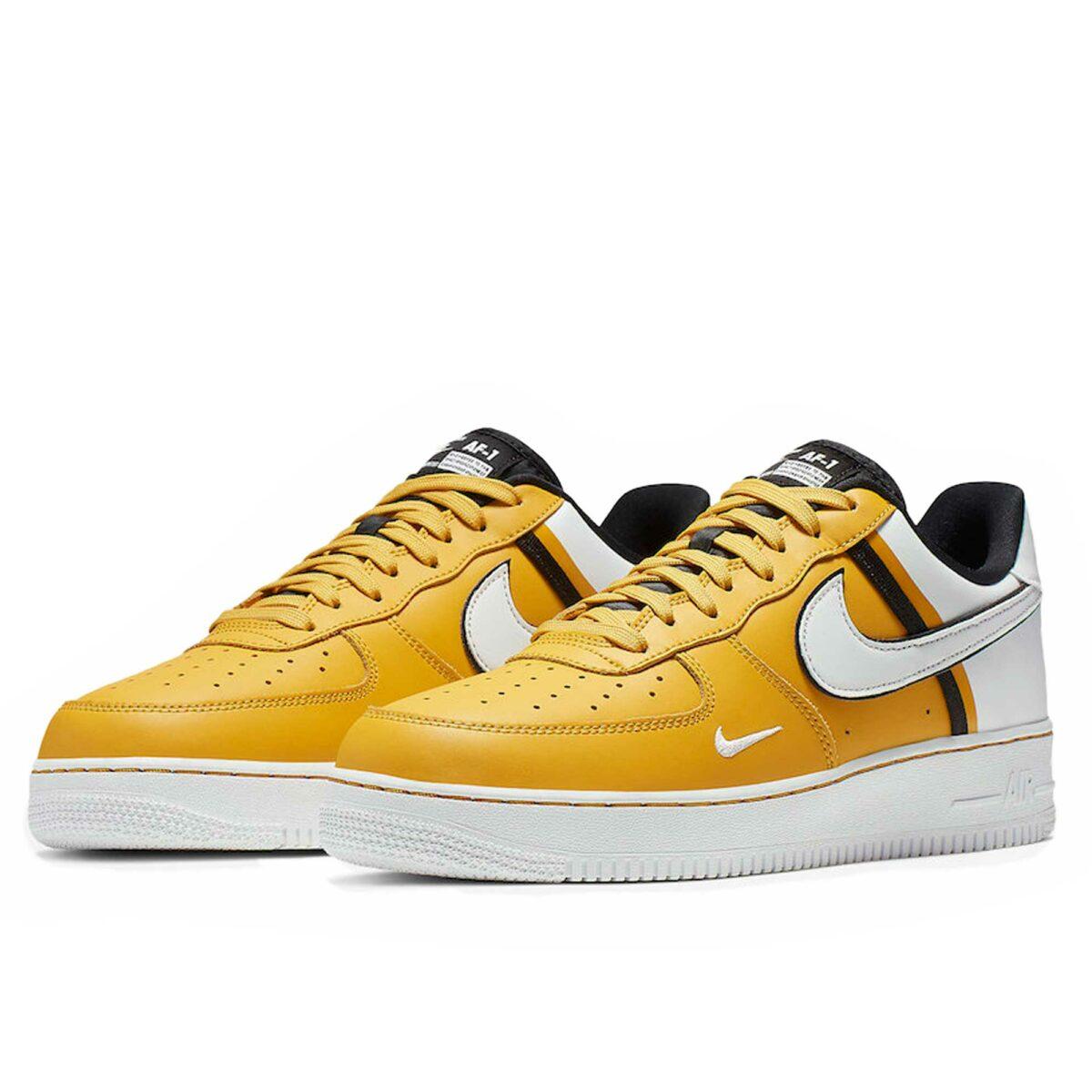 nike air force 1 lv 8 yellow white CI0061_700 купить