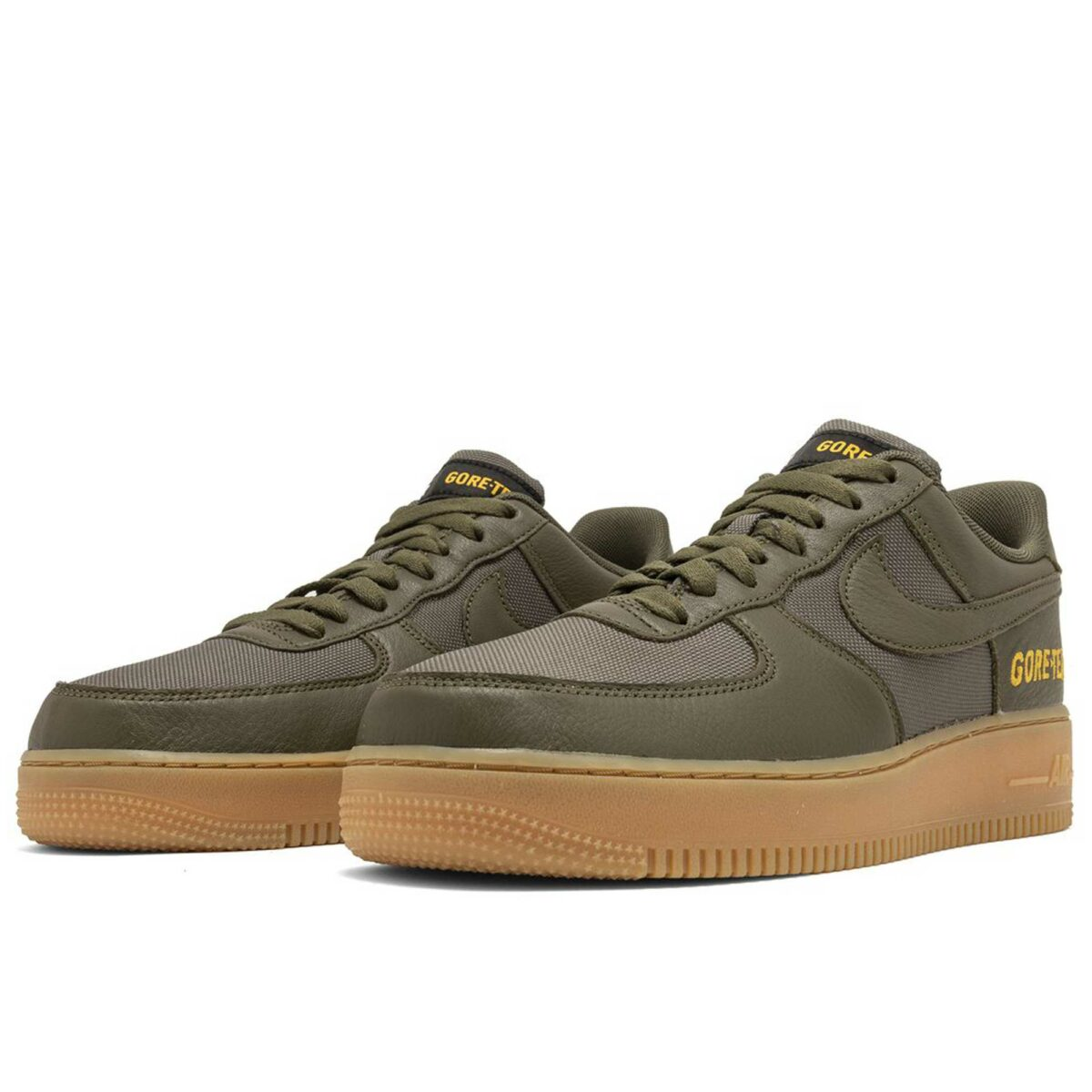 nike air force 1 low gore tex medium olive CK2630_200 купить