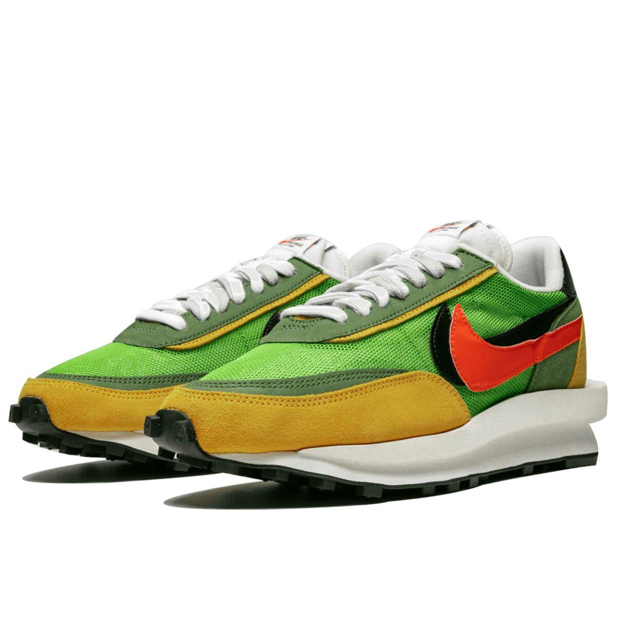nike LDWaffle sacai - green gusto BV0073_300 купить