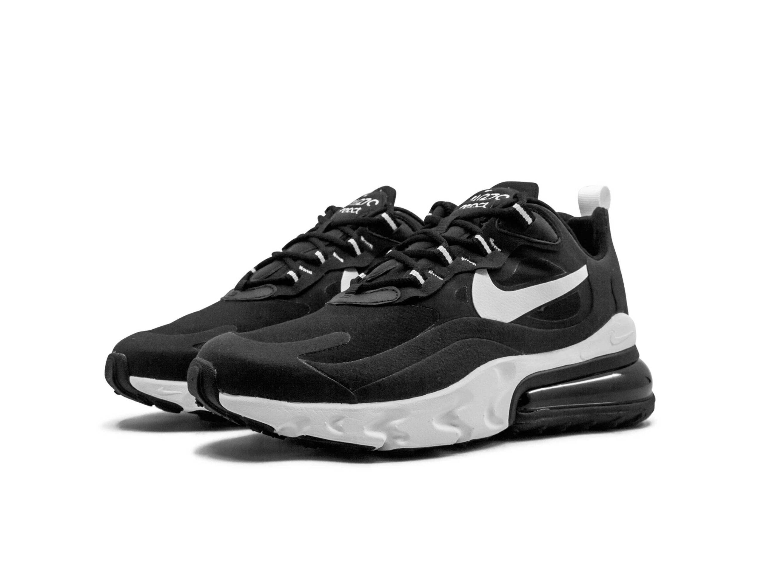 nike air max 270 react black white AT6174_004 купить