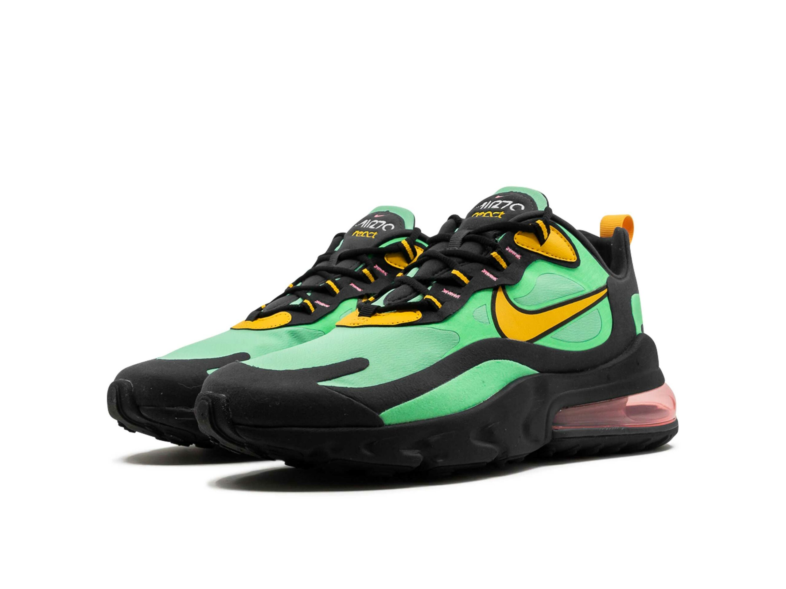 nike air max 270 react electro green AO4971_300 купить