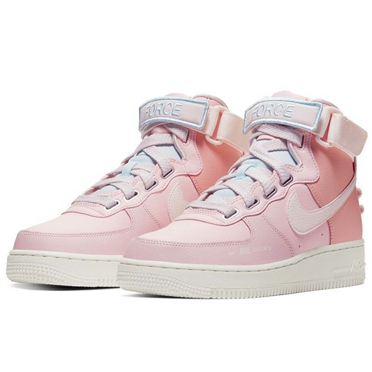 nike air force 1 high pink купить