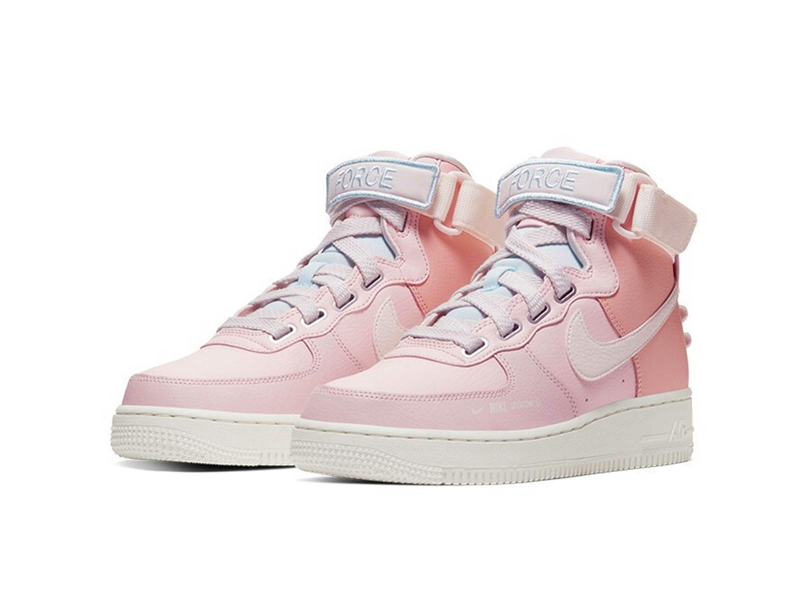 nike air force 1 high pink купить