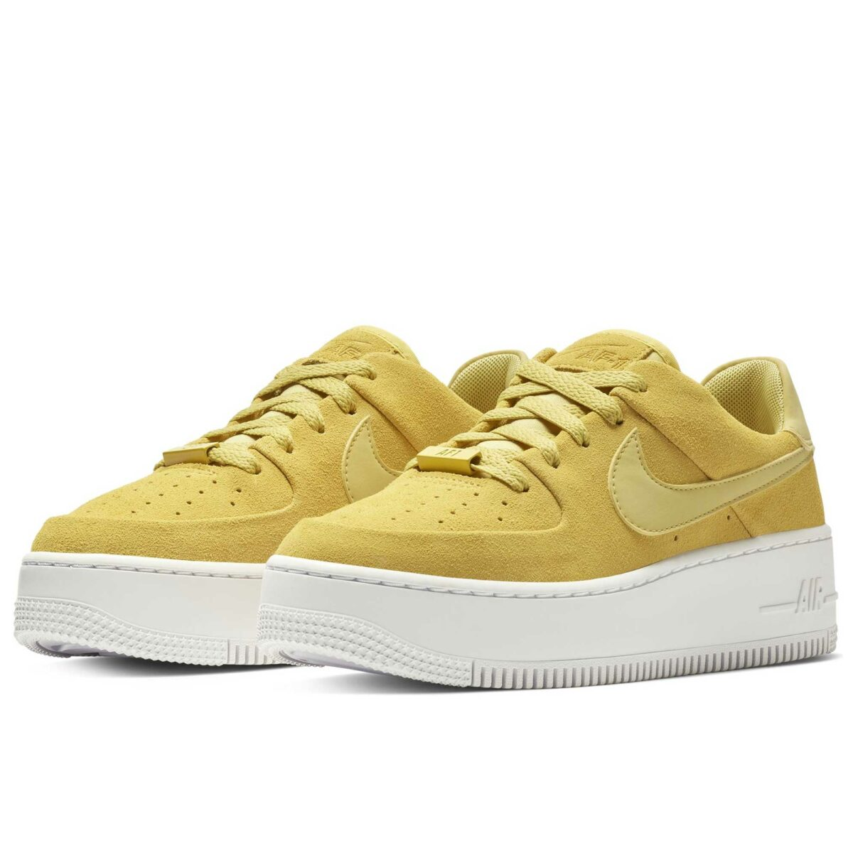 nike air force 1 sage low mustard ar5339_300 купить