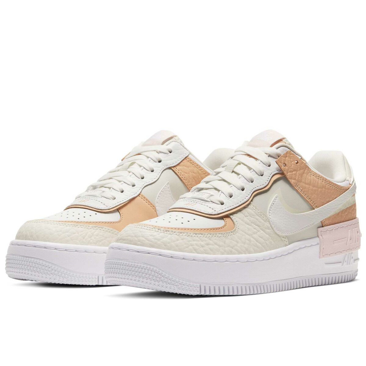 nike air force 1 shadow beige brown marron CK3172_002 купить