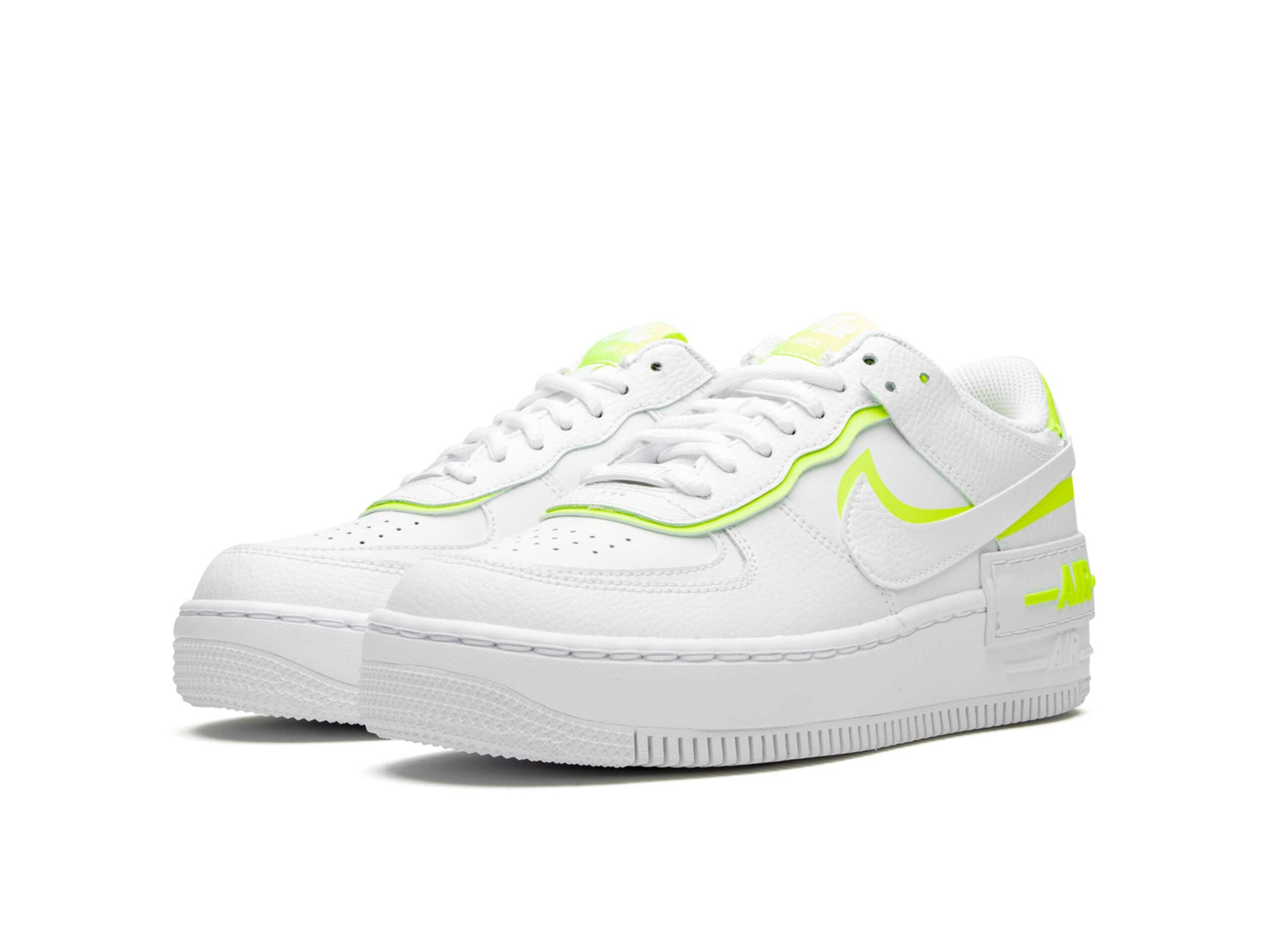 nike air force 1 shadow white lemon CI0919_104 купить