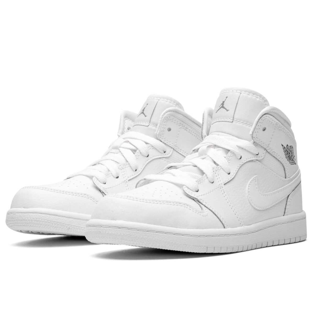 nike air Jordan 1 mid BP white 670734_102 купить