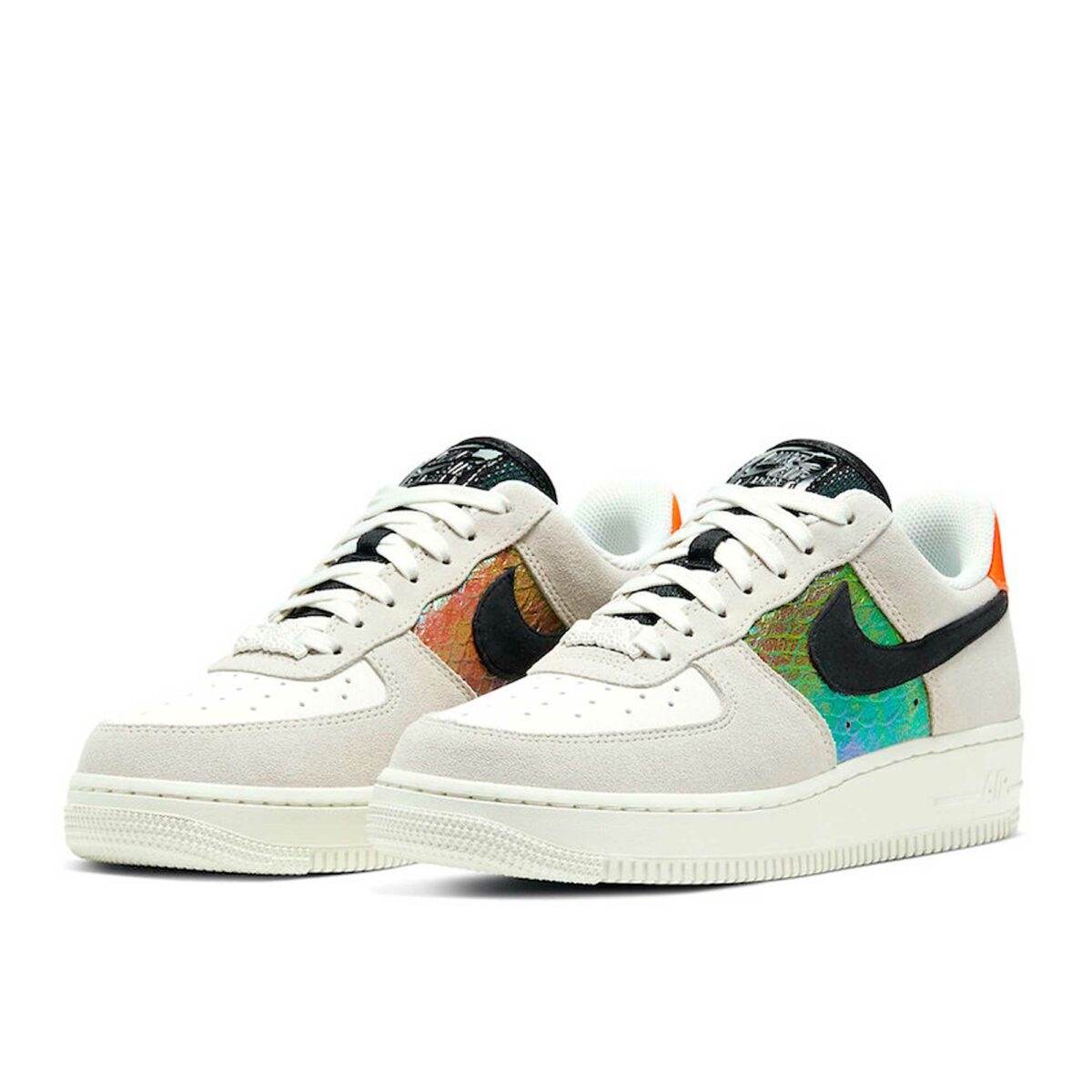 Nike Air Force 1 Low Iridescent Snakeskin CW2657_001 купить