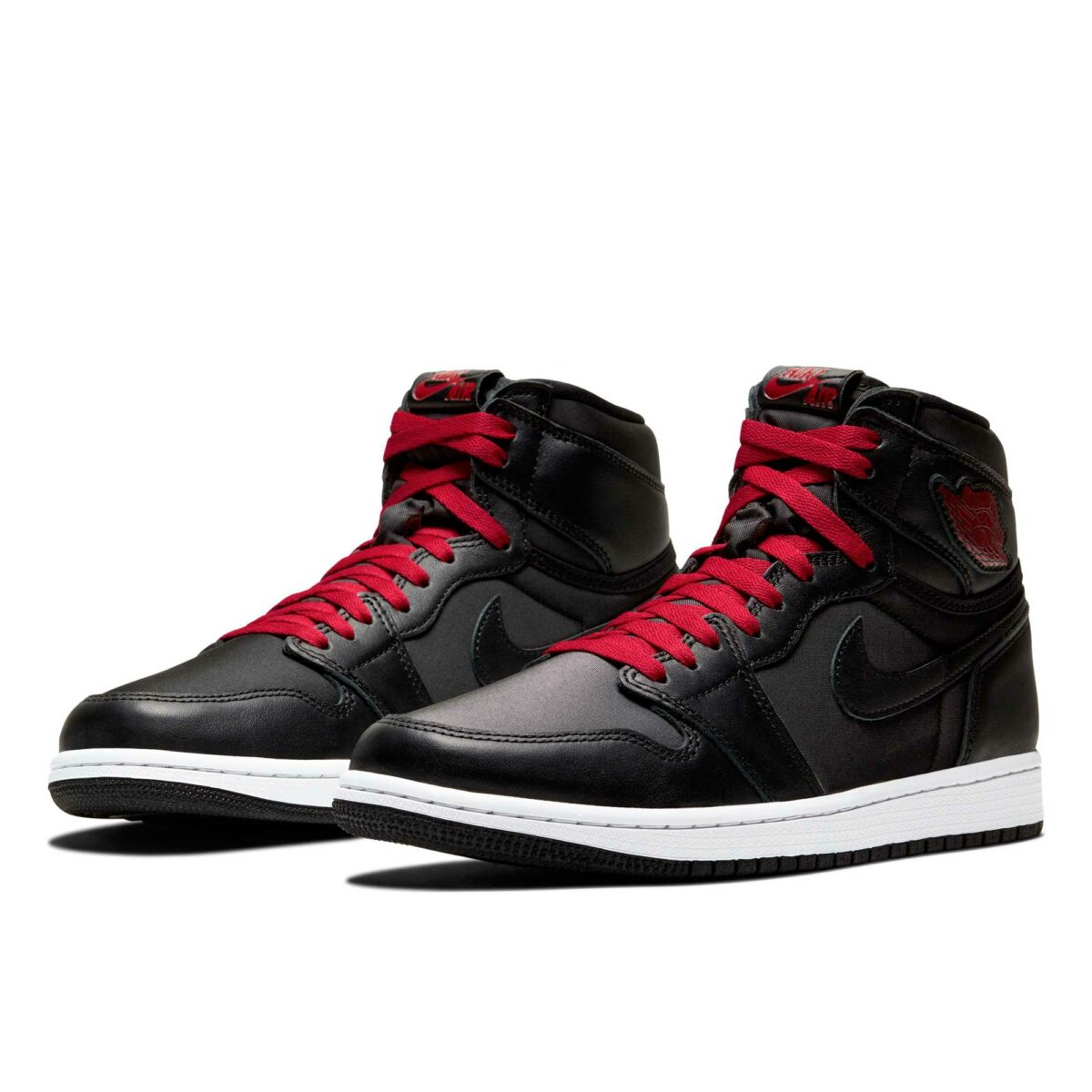 nike air Jordan 1 high og black red 555088_060 купить