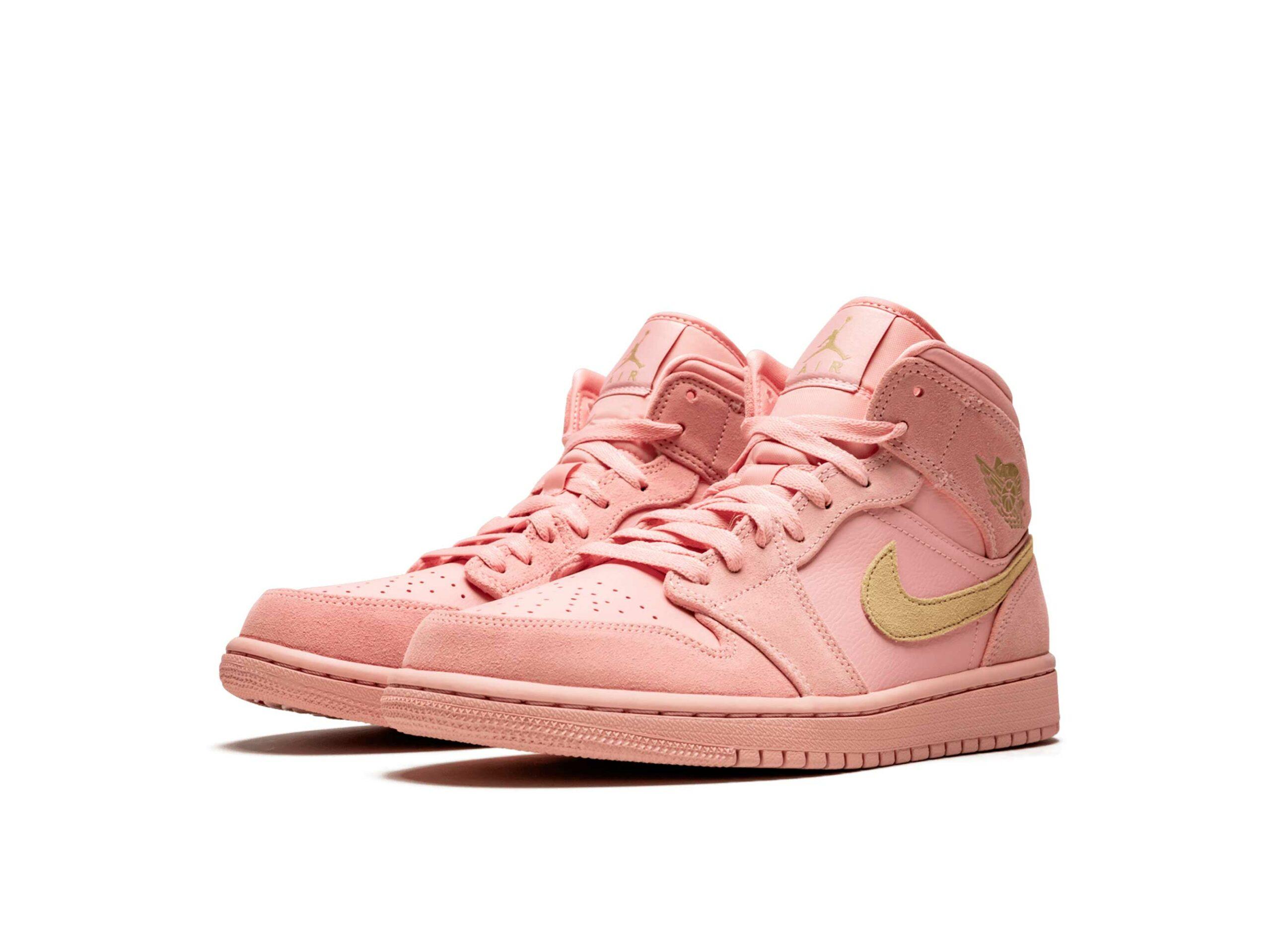 nike air Jordan 1 mid se coral stardust 852542_600 купить