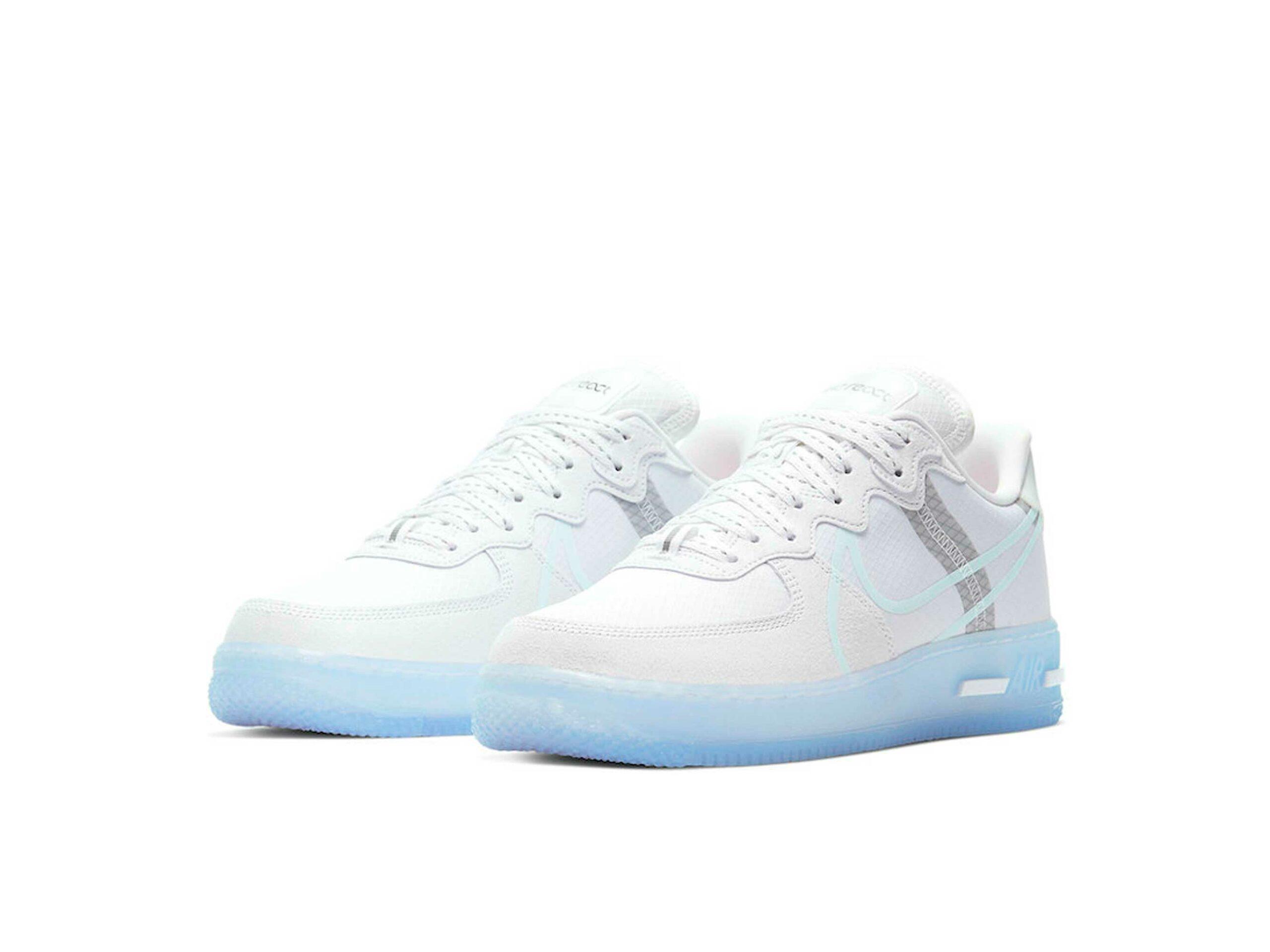 nike air force 1 react white ice CQ8879_100 купить