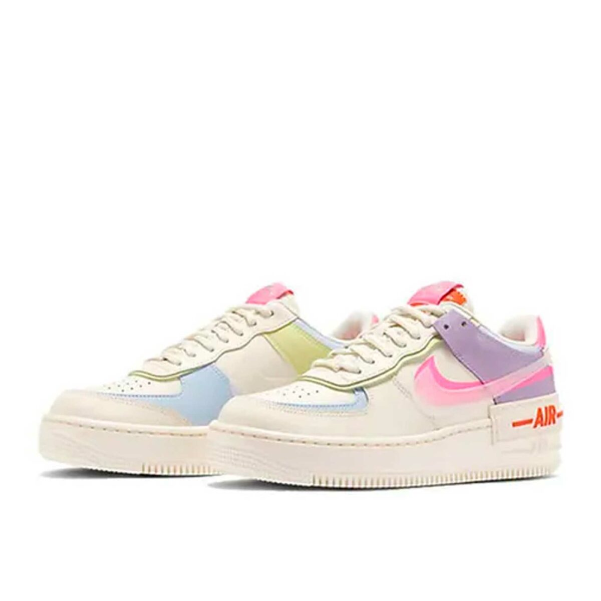 nike air force 1 shadow double swoosh sail pink purple CT7358_500 купить
